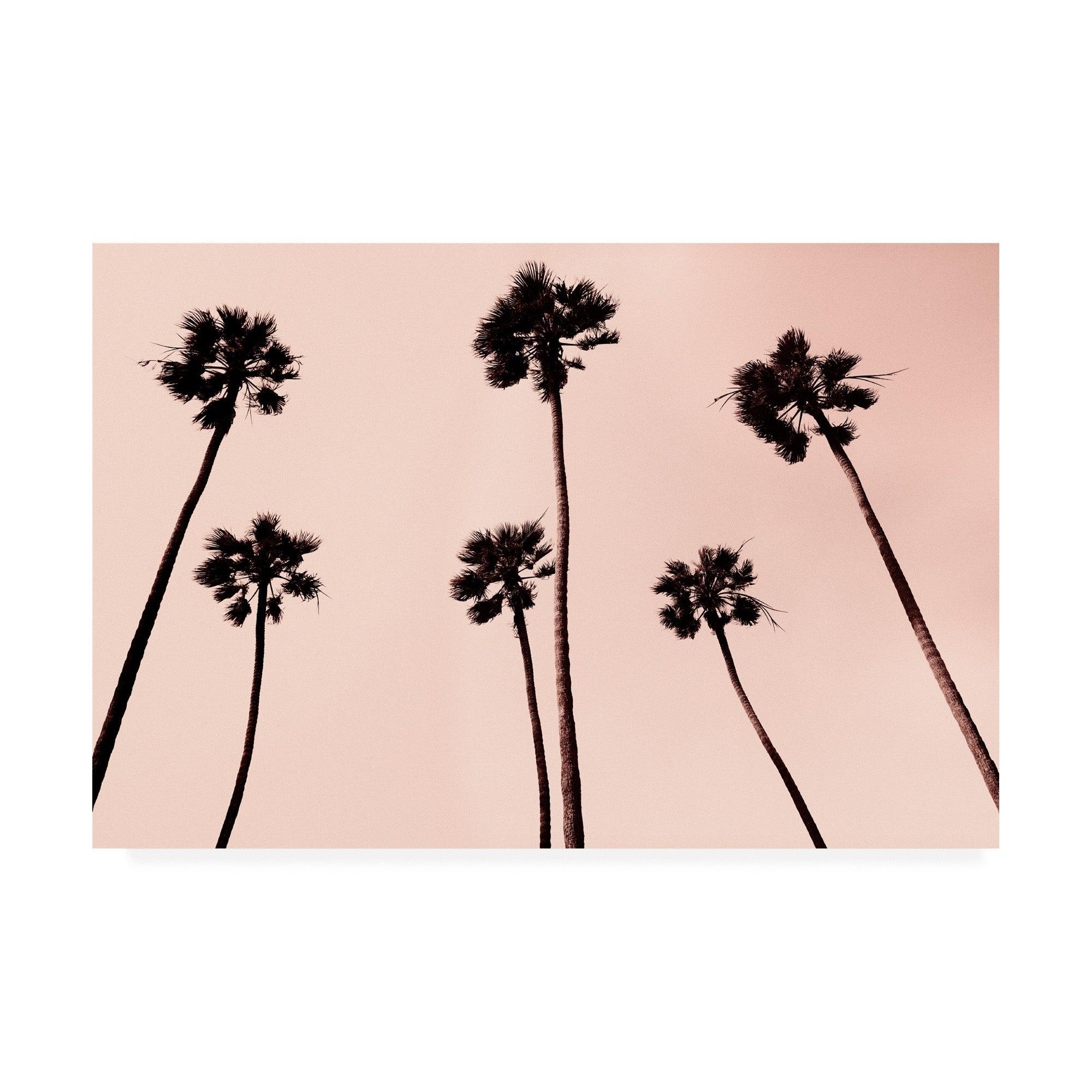 Erik asl palm trees 1997 copper canvas art