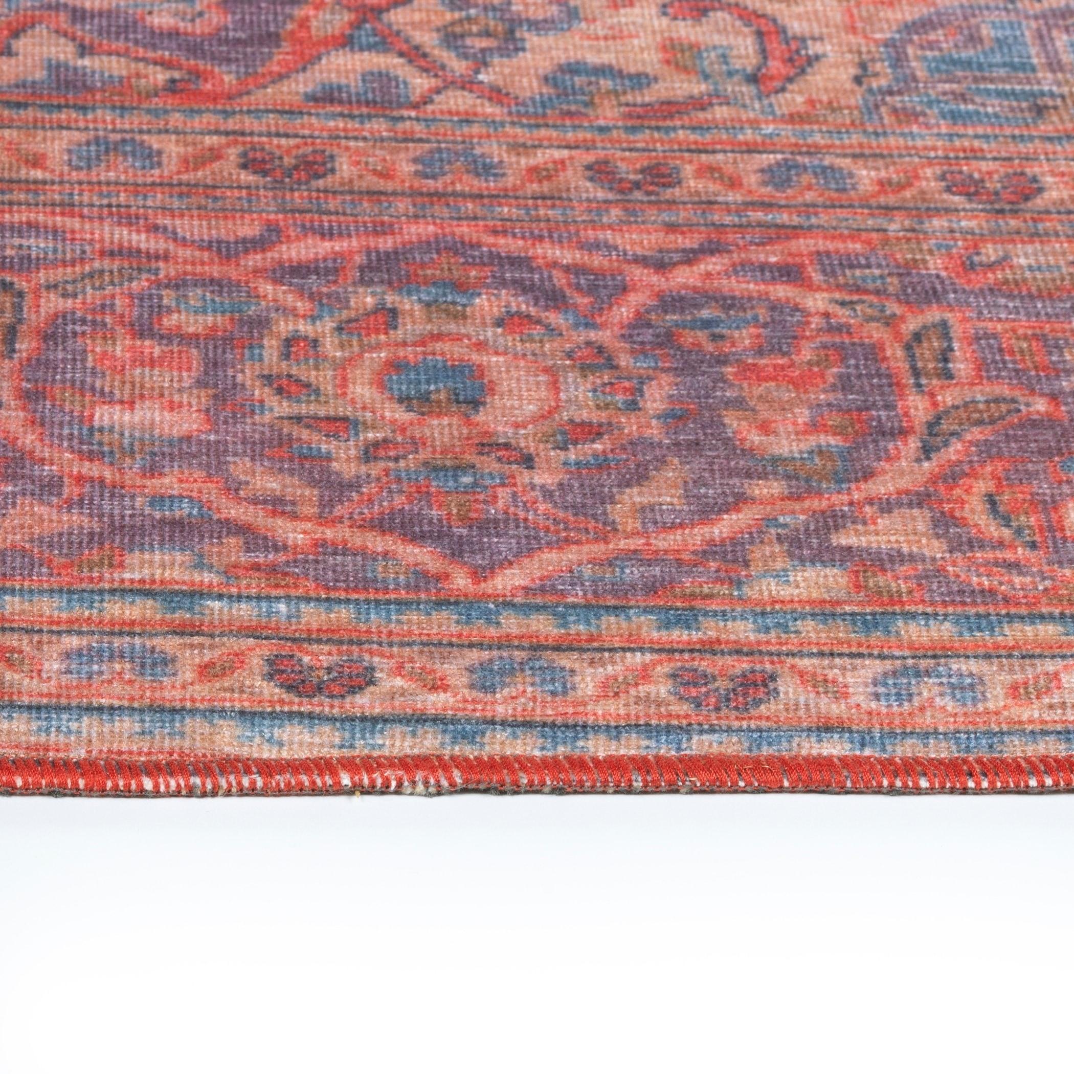 Ballard Indoor/Outdoor Vintage Printed Replica Rug