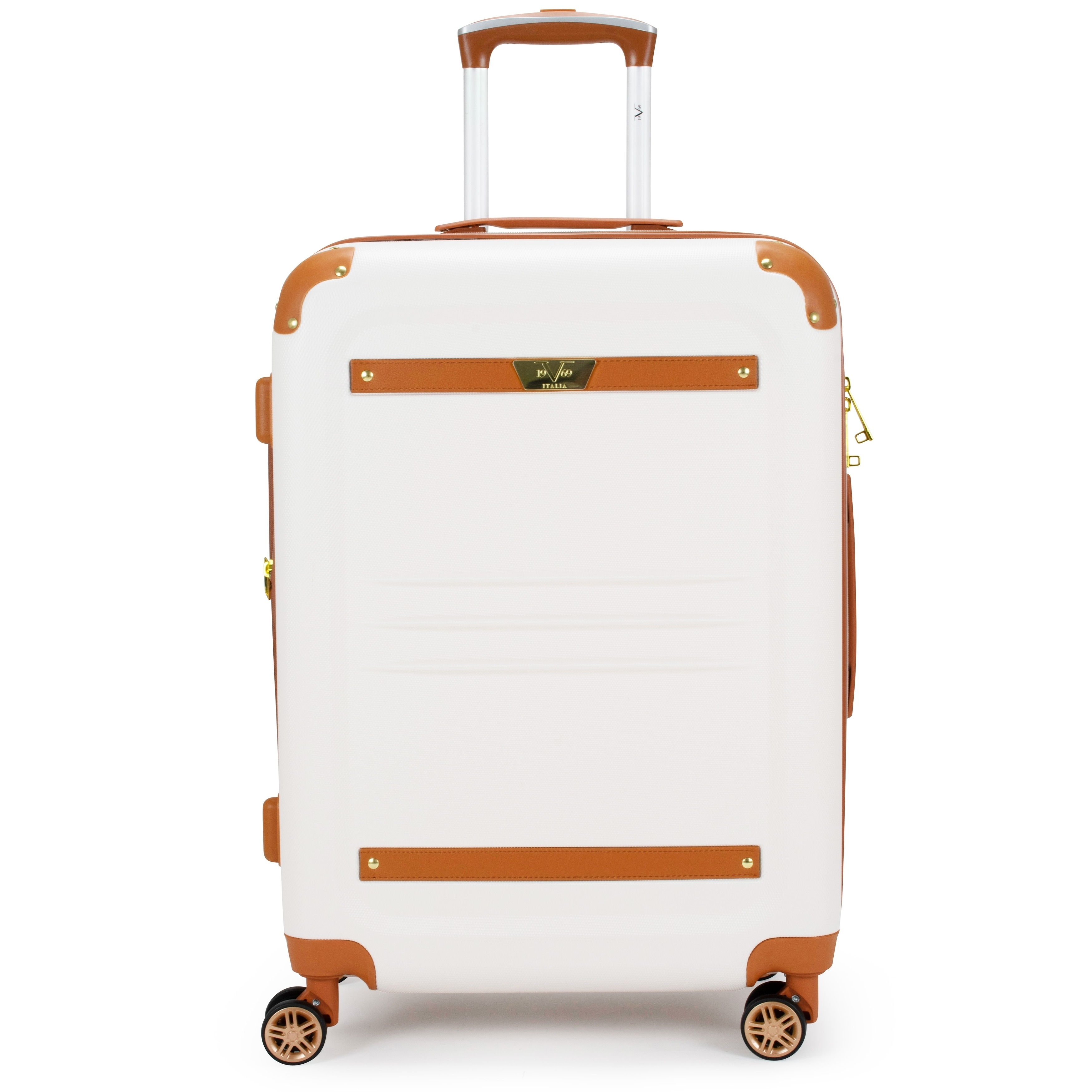 fc1fb0b25 Shop 19V69 Italia Vintage Expandable Hard Spinner Luggage 2 Piece Set -  Free Shipping Today - Overstock - 28178840