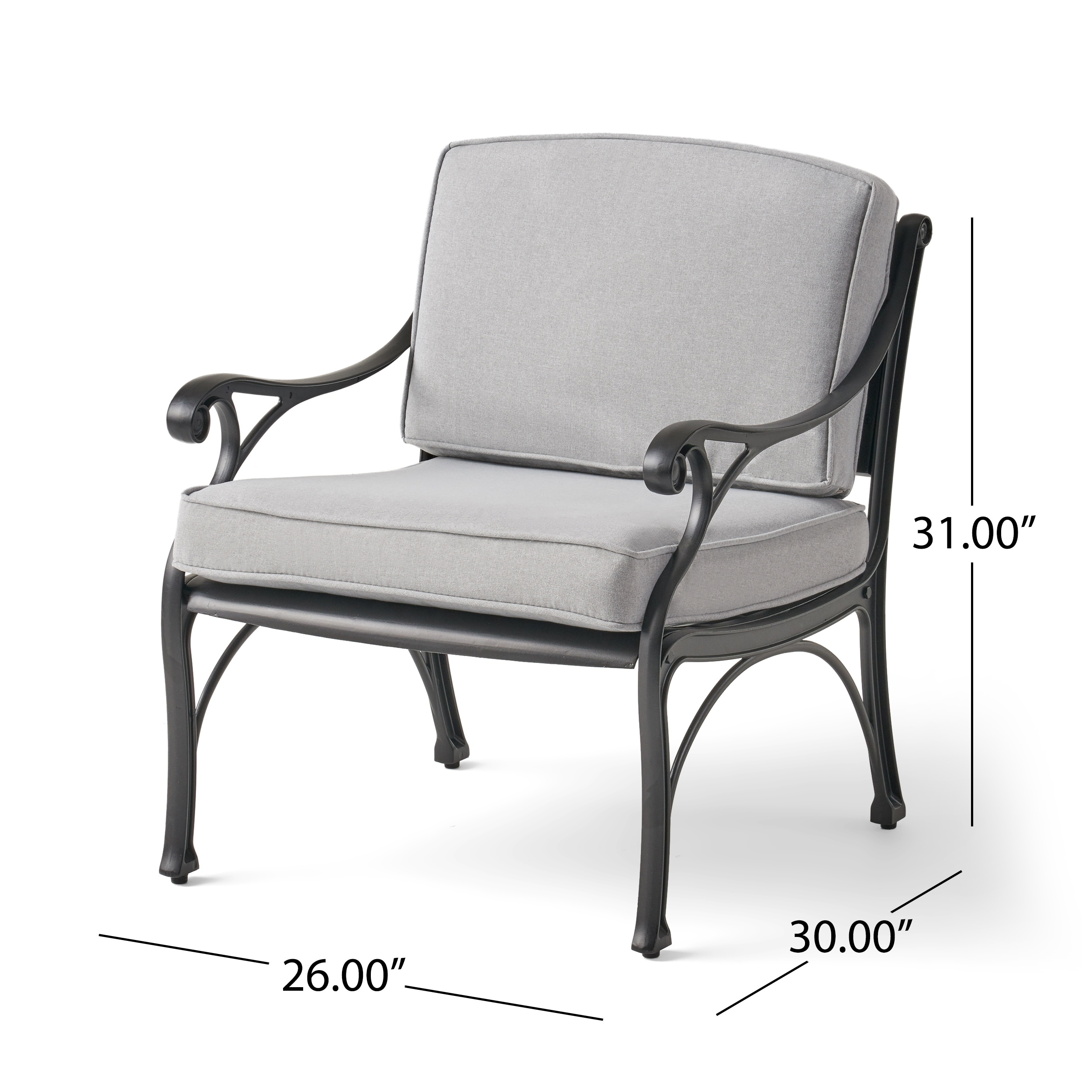 Delicieux Shop Sunshine Outdoor 4 Seater Aluminum Club Chair Set With Fire Pit By  Christopher Knight Home   On Sale   Free Shipping Today   Overstock    28226945