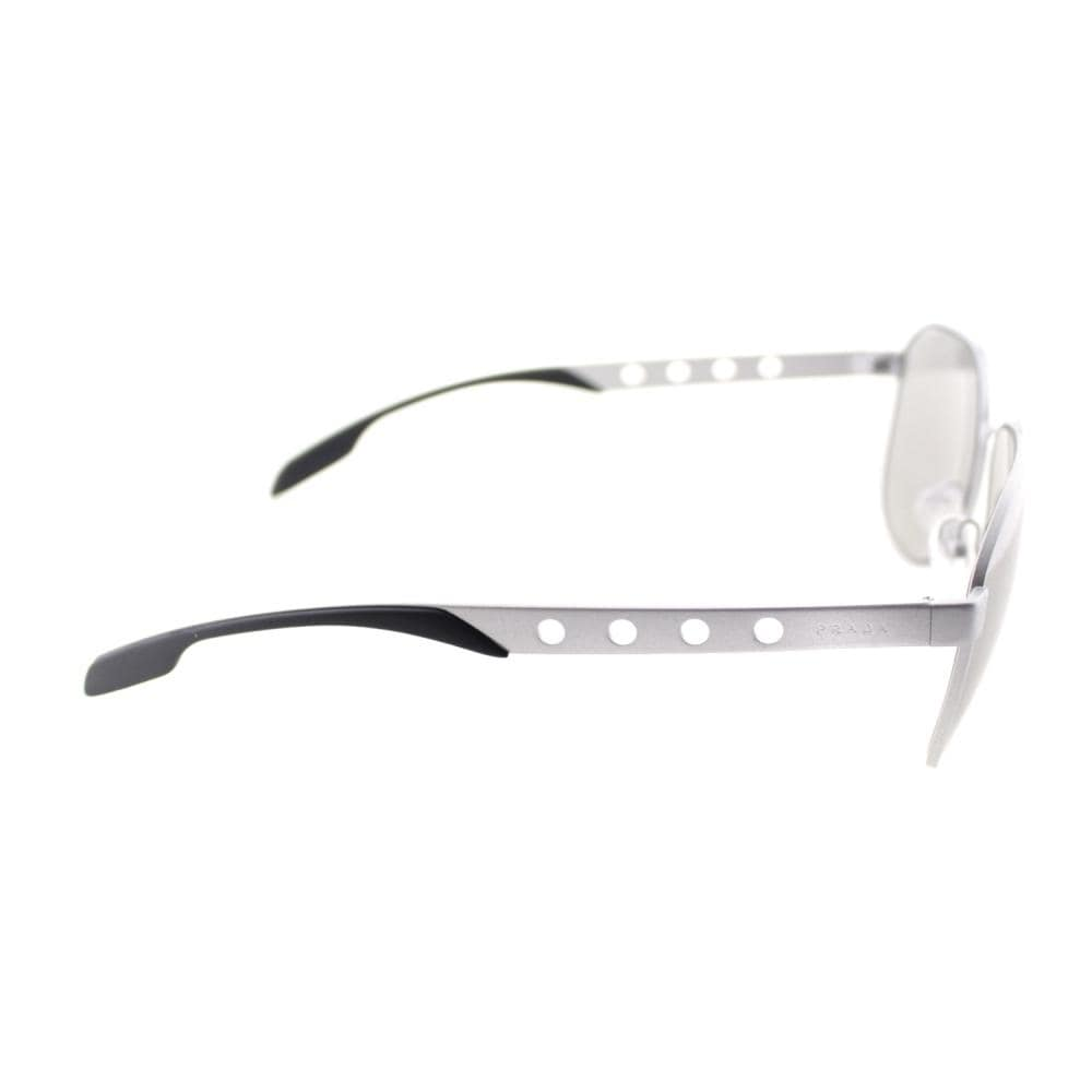 067acf1441dc Shop Prada PR 51RS TKH1I2 Unisex Silver Frame Silver Mirror Lens Sunglasses  - Free Shipping Today - Overstock - 28254426