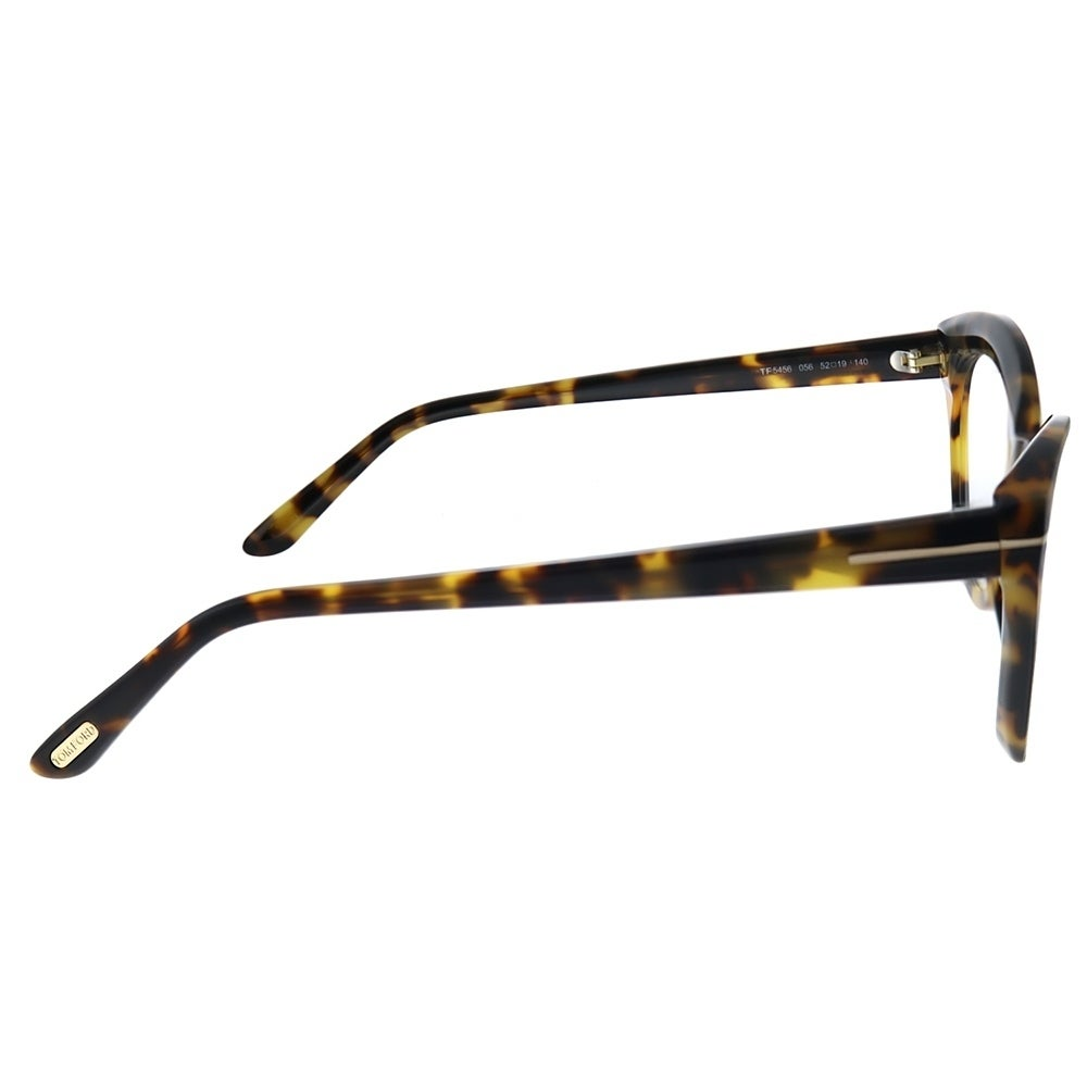 a809f6f177b7 Shop Tom Ford FT 5456 056 Womens Tortoise Frame Eyeglasses 52mm - Free  Shipping Today - Overstock - 28338774