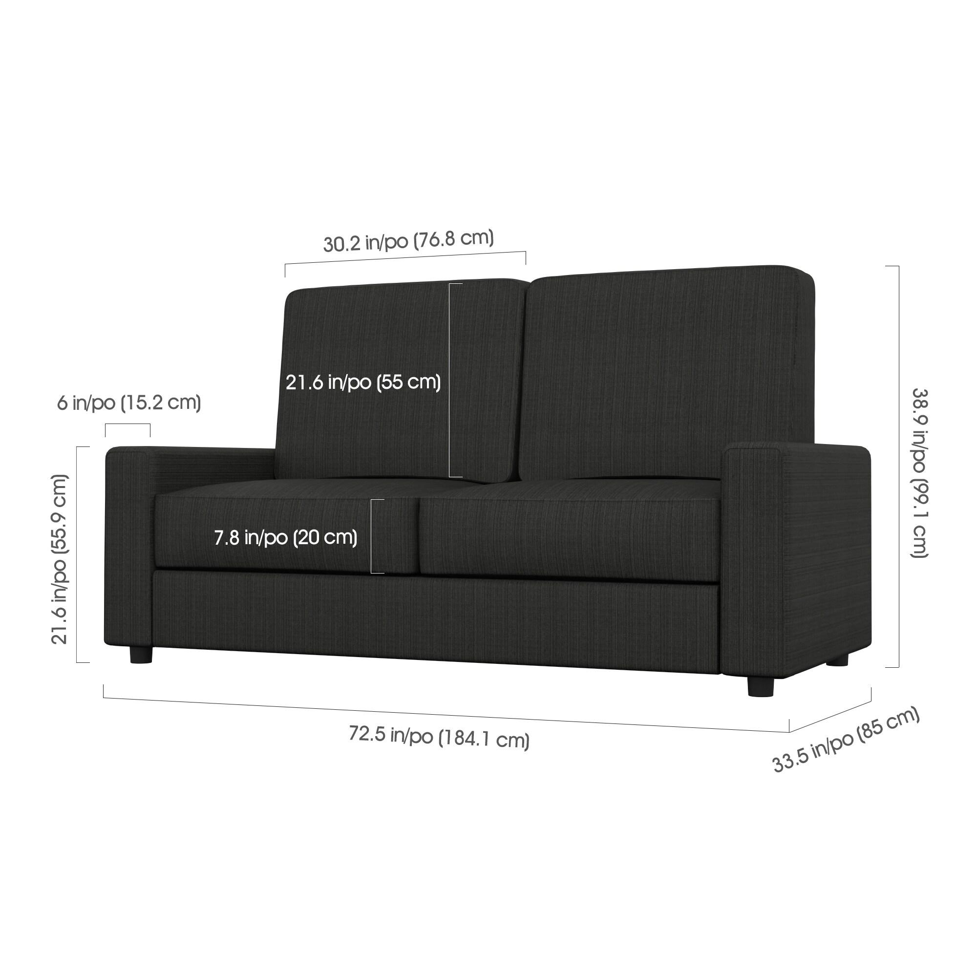 Bestar Edge 2-Piece Wall Bed and Sofa Set