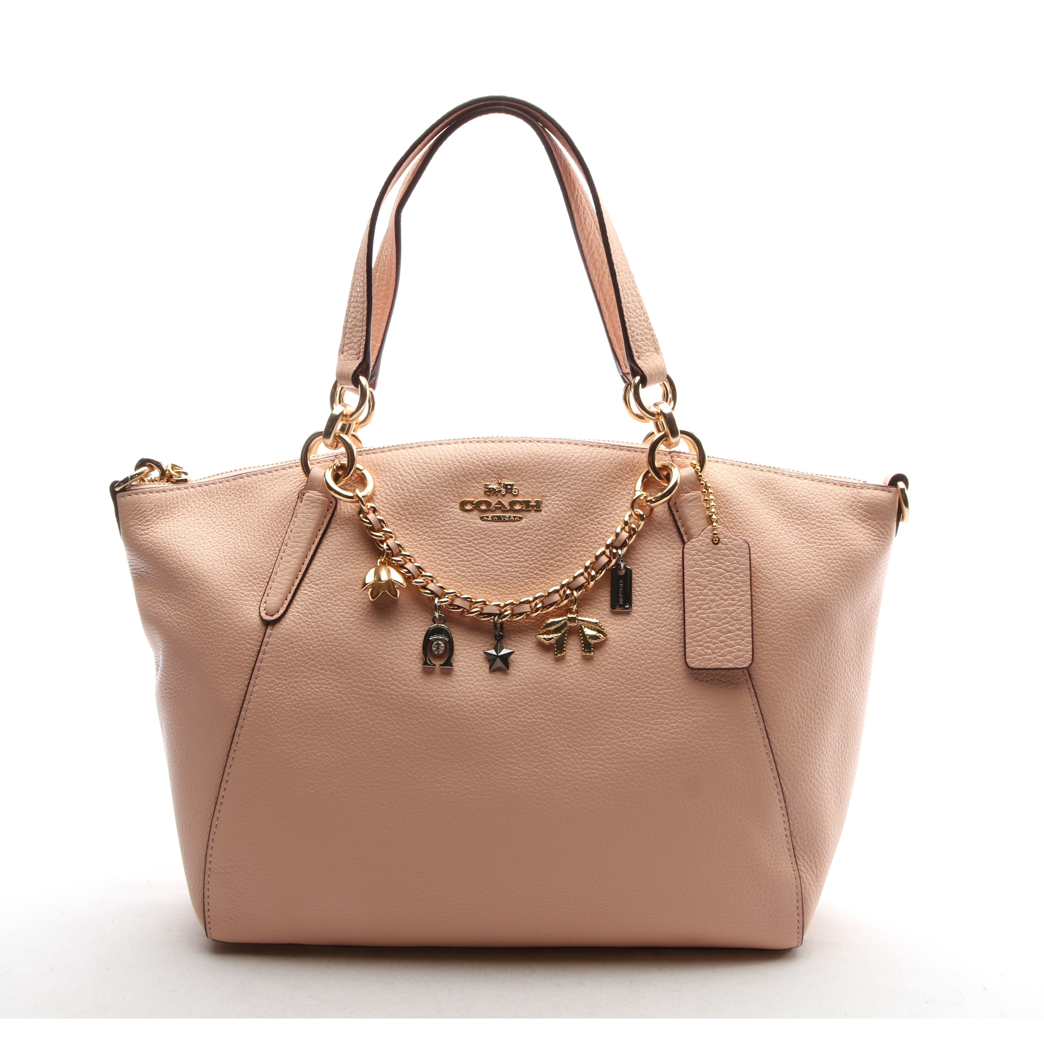 92b68b4f119a Shop Coach Women's Small Kelsey Satchel With Bracelet - Free Shipping Today  - Overstock - 28377884