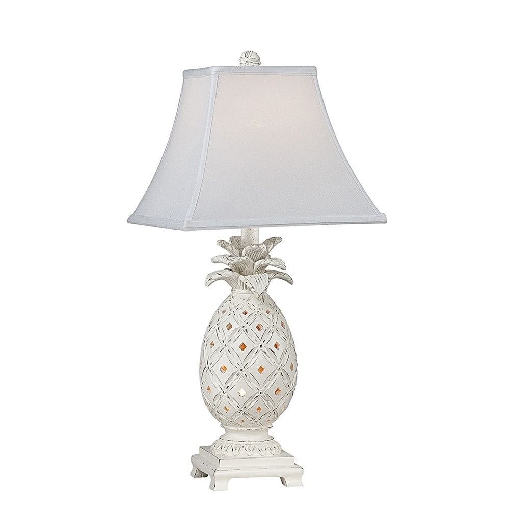 Seahaven pineapple table lamp coastal style