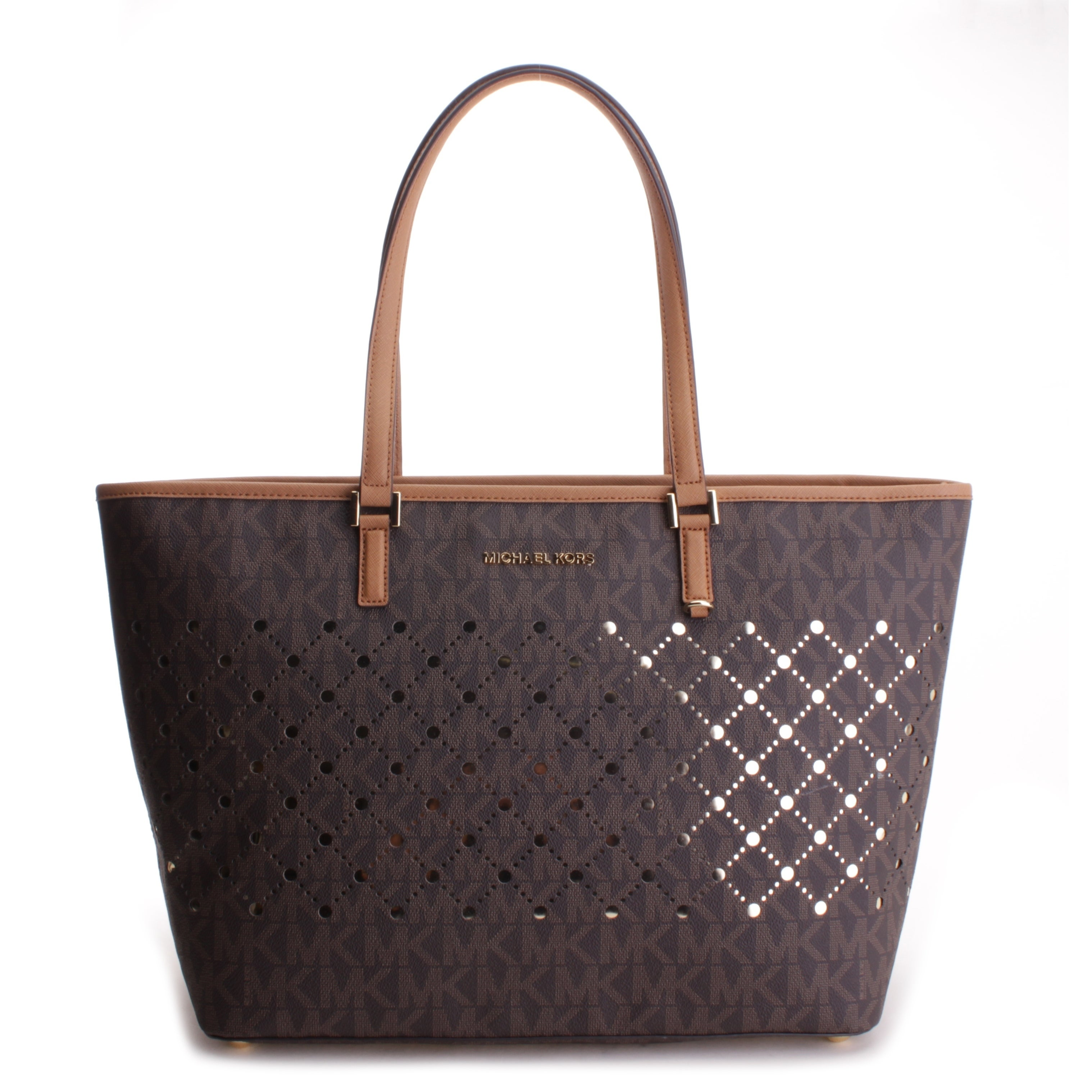 df950f1b6 Shop Michael Kors Women's Violet - Jet Set Travel Large Carryall Tote -  Free Shipping Today - Overstock - 28443130