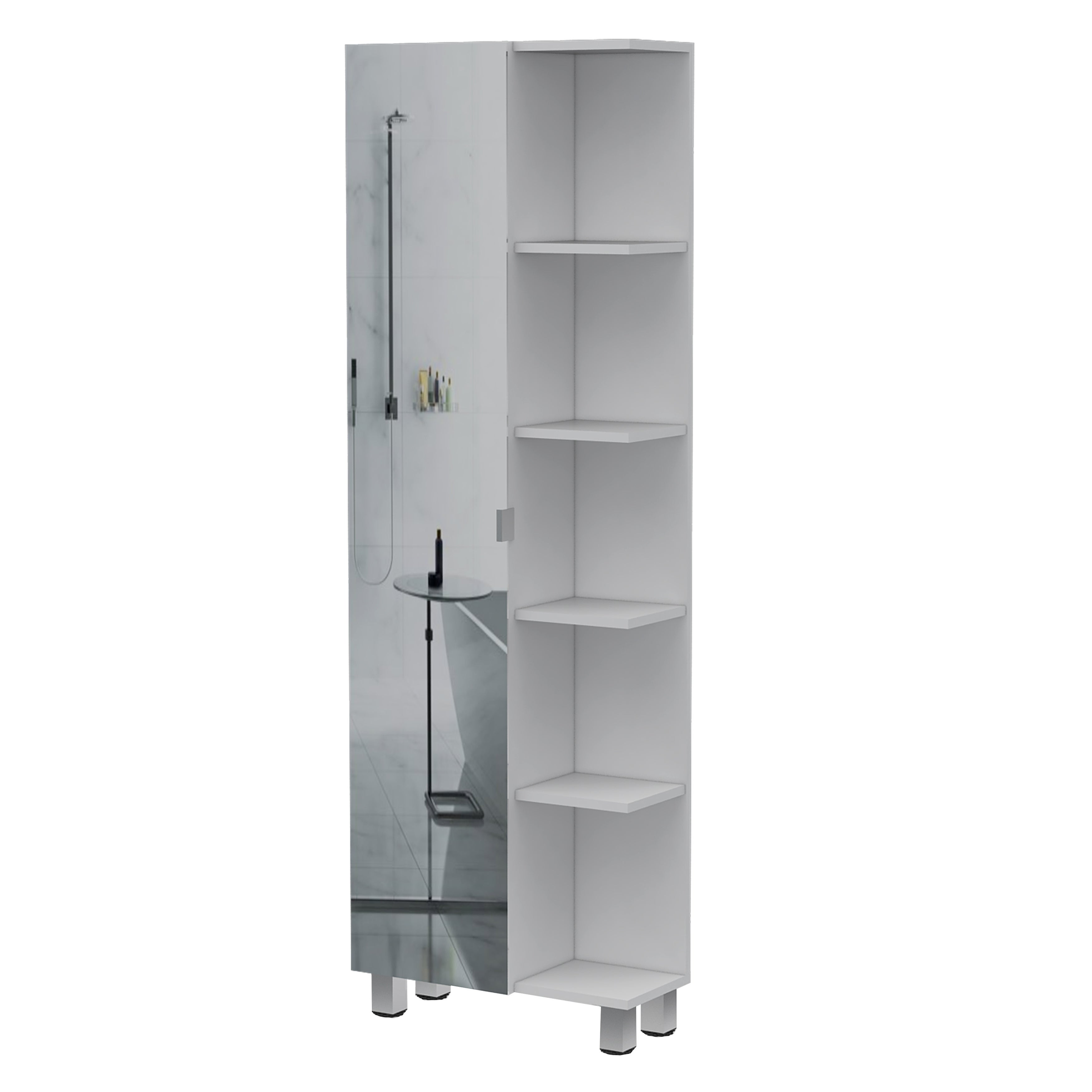 Tuhome Urano Bathroom Cabinet Linen Cabinet N A