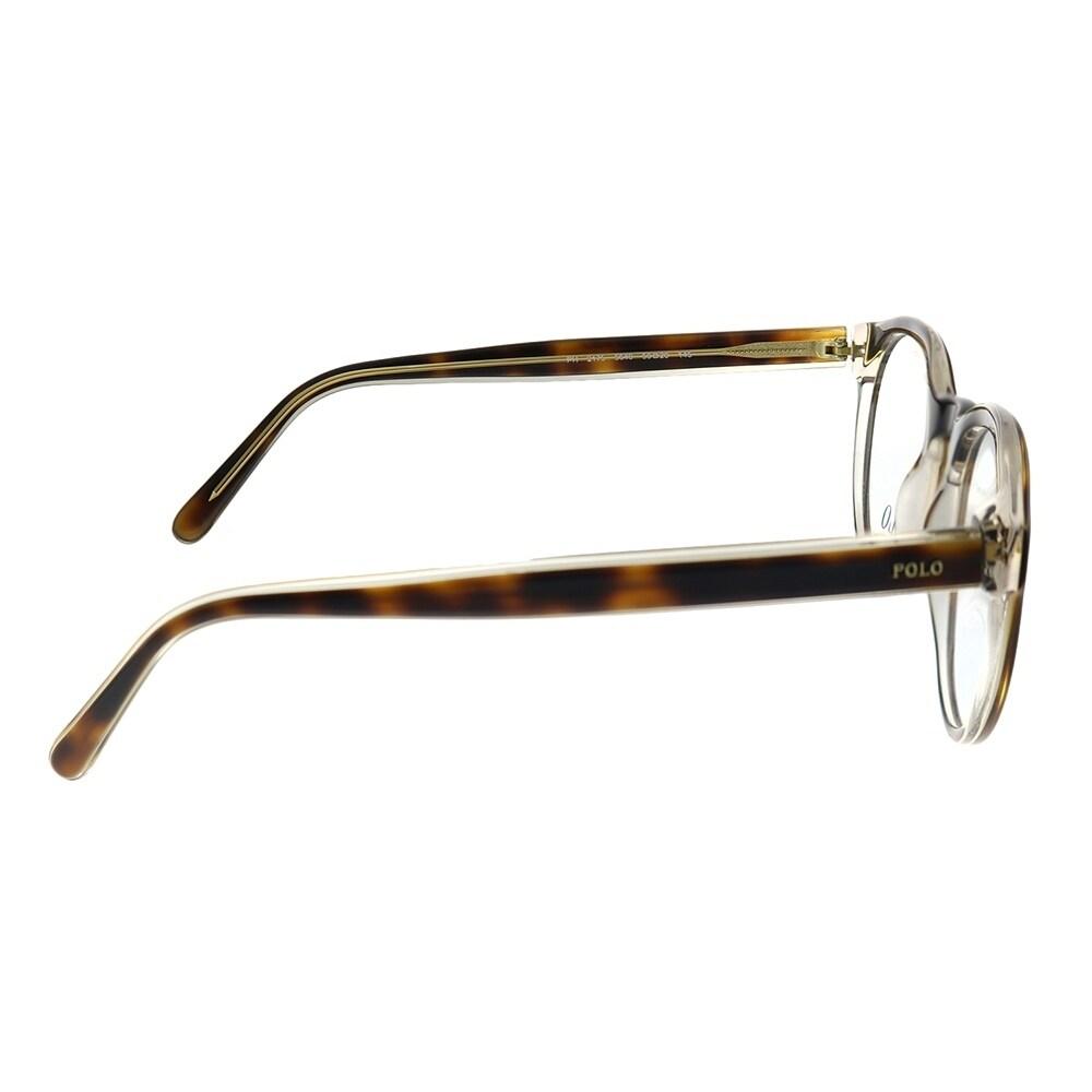 cd5a8b9103cb Shop Polo Ralph Lauren PH 2175 5640 50mm Unisex Havana on Crystal Frame  Eyeglasses 50mm - Free Shipping Today - Overstock - 28566933