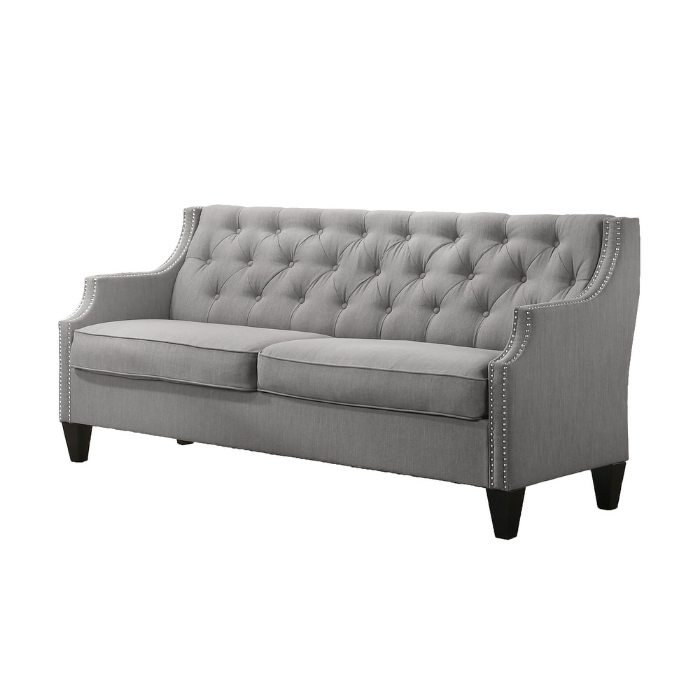 Best Quality Furniture Velvet Tufted Sofa