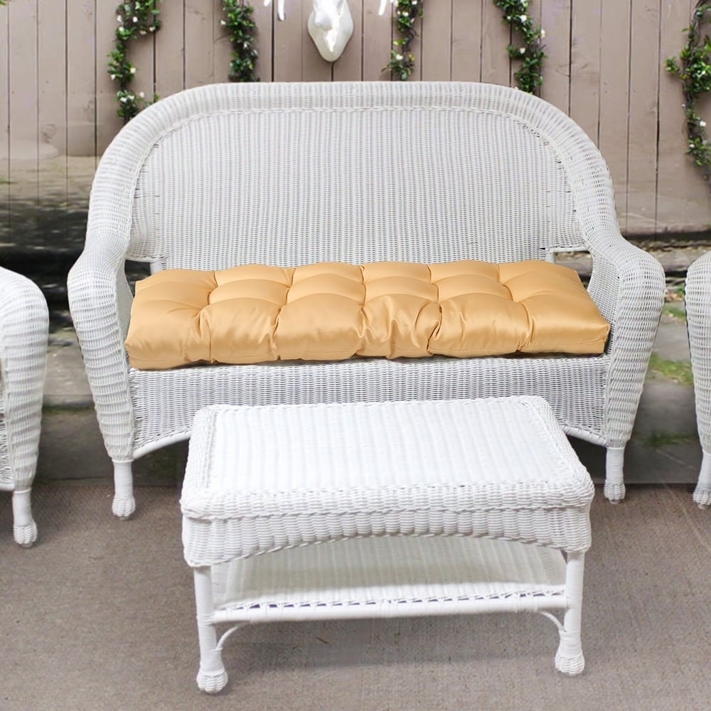 Awesome Indoor Chair Bench Seat Cushions Yellow Patio Furniture Cushions N A Beutiful Home Inspiration Aditmahrainfo