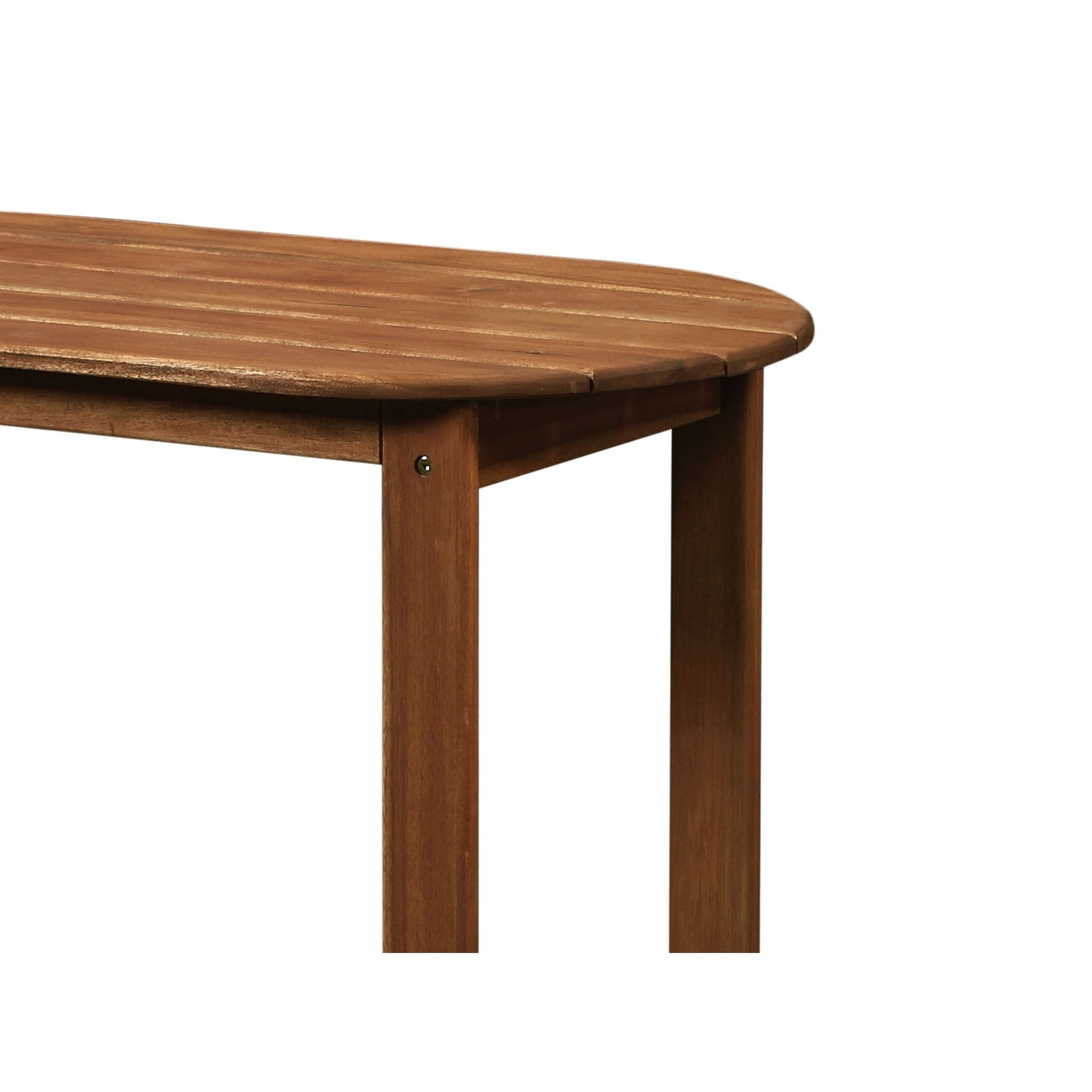 Astonishing Outdoor Wooden Coffee Table With Slatted Oblong Shape Top Brown Home Interior And Landscaping Ologienasavecom