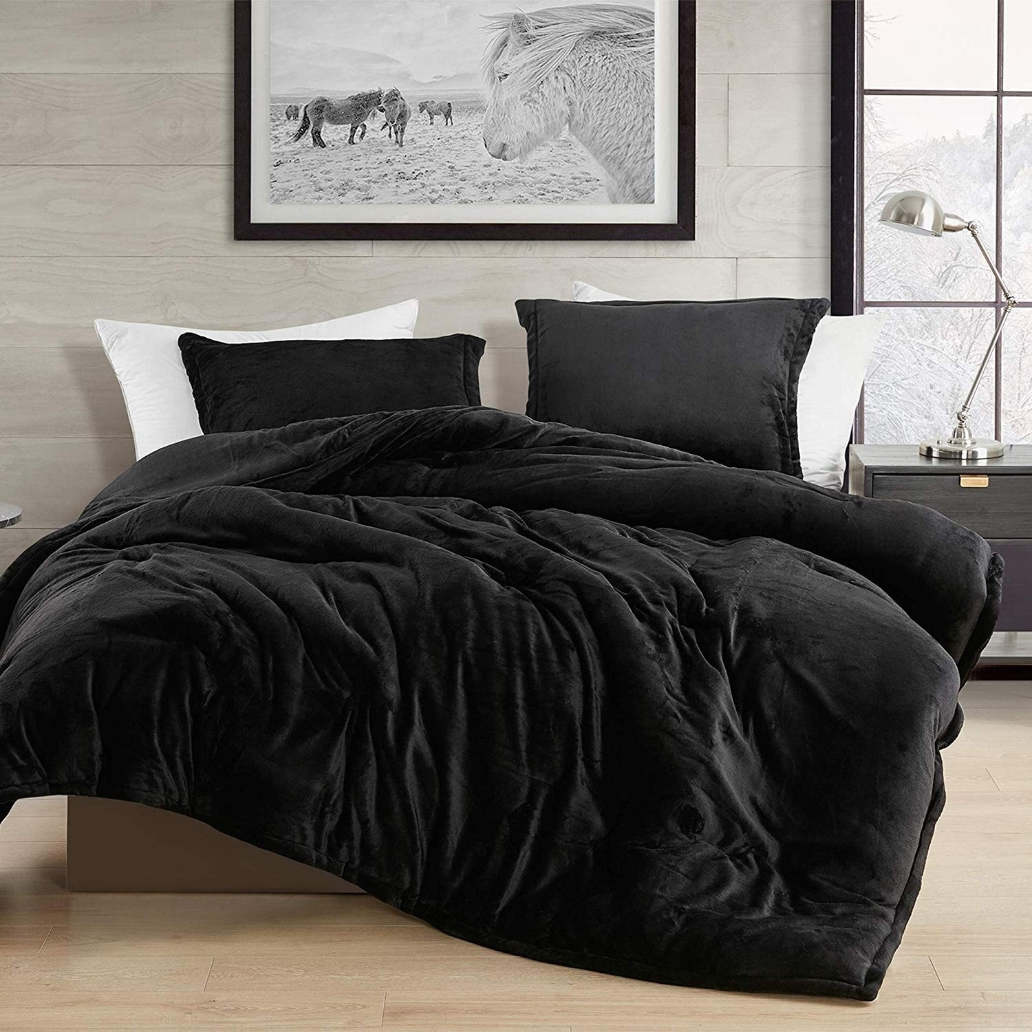 Black Touchy Feely Coma Inducer Oversized Comforter On Sale Overstock 28858917