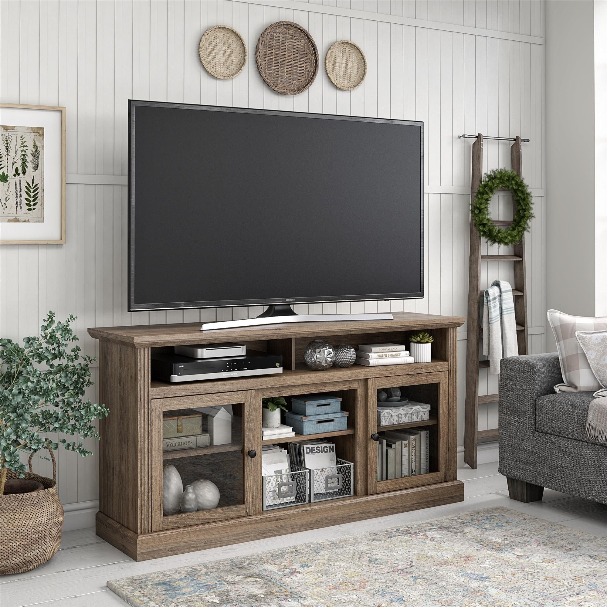 Avenue Greene Garnett Tv Stand For Tvs Up To 65 Inches Overstock 28988632
