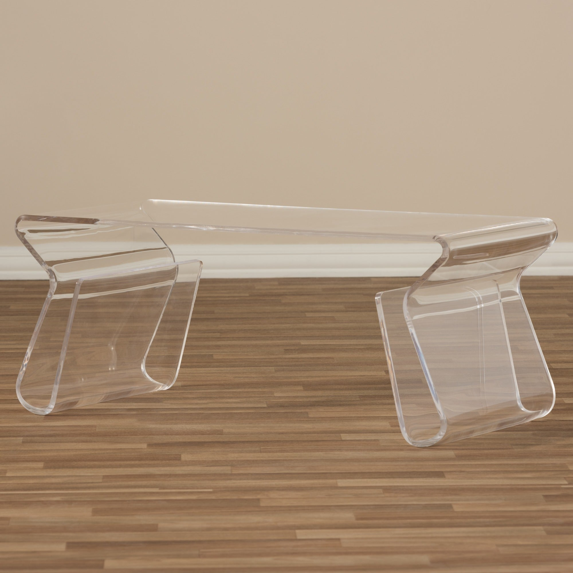 Adair Acrylic Coffee Table Free Shipping Today Overstock 11095929