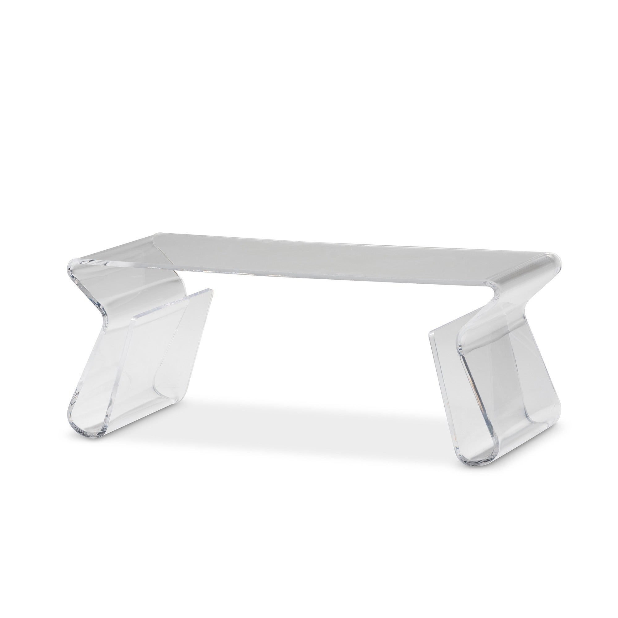Adair Acrylic Coffee Table Free Shipping Today Overstock