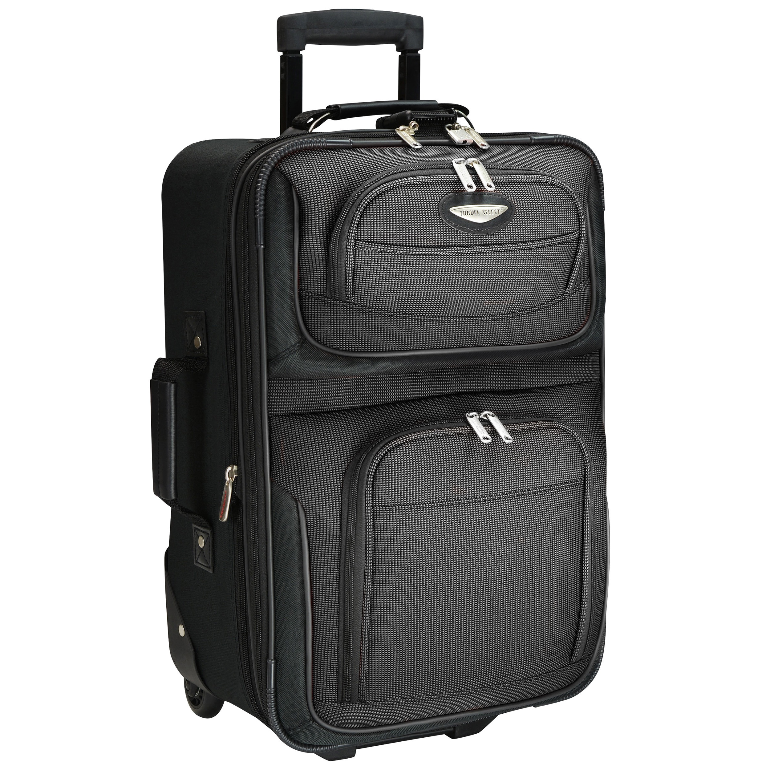 a840f4c2b8a7 Shop Travel Select by Traveler s Choice Amsterdam 21-inch Lightweight Carry  On Upright Suitcase - On Sale - Free Shipping Today - Overstock - 2969442