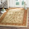 Safavieh Lyndhurst Traditional Oriental Red/ Black Rug (5' 3 Round)