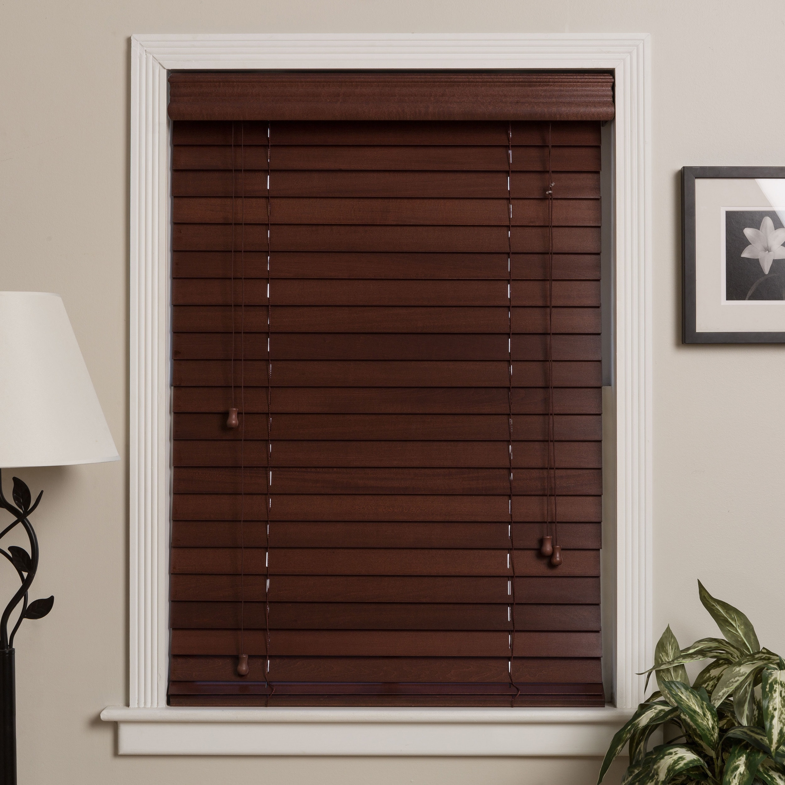 blinds in custom on wood kawartha lakes inch faux products