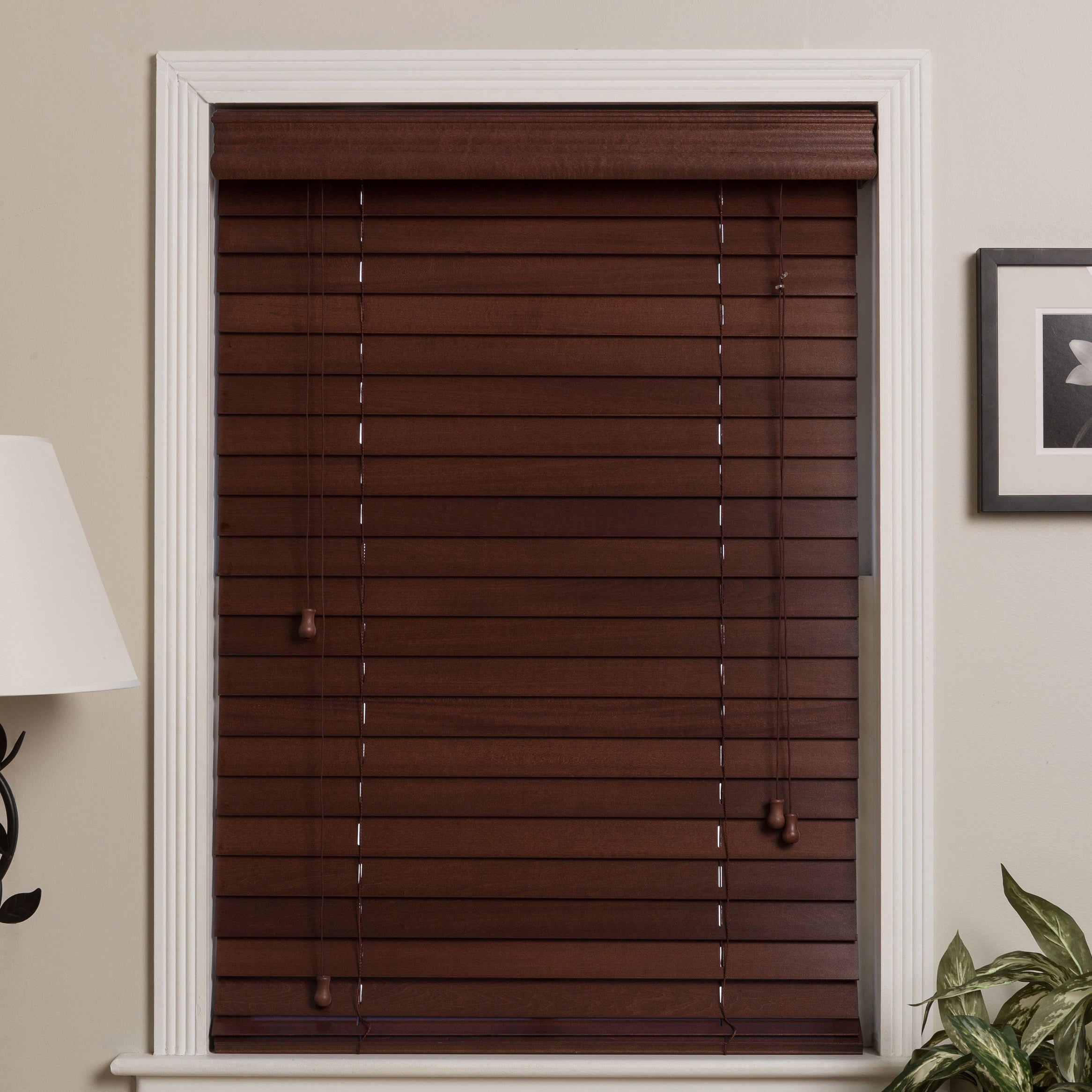 thehomedepot economy bay in fauxwood blinds inch hampton p