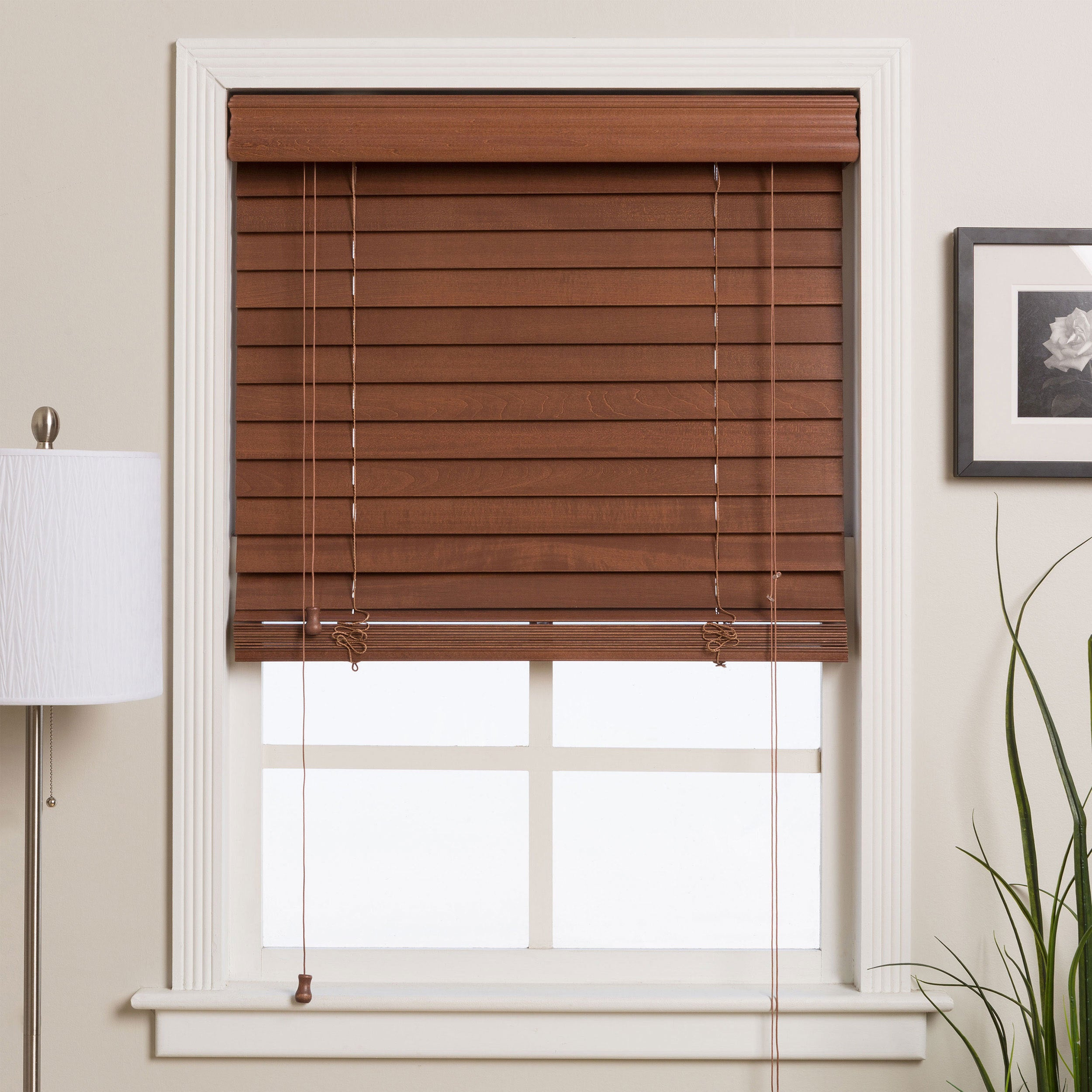 70 inch blinds walmart shop arlo blinds customized 70inch real wood window free shipping today overstockcom 2983922