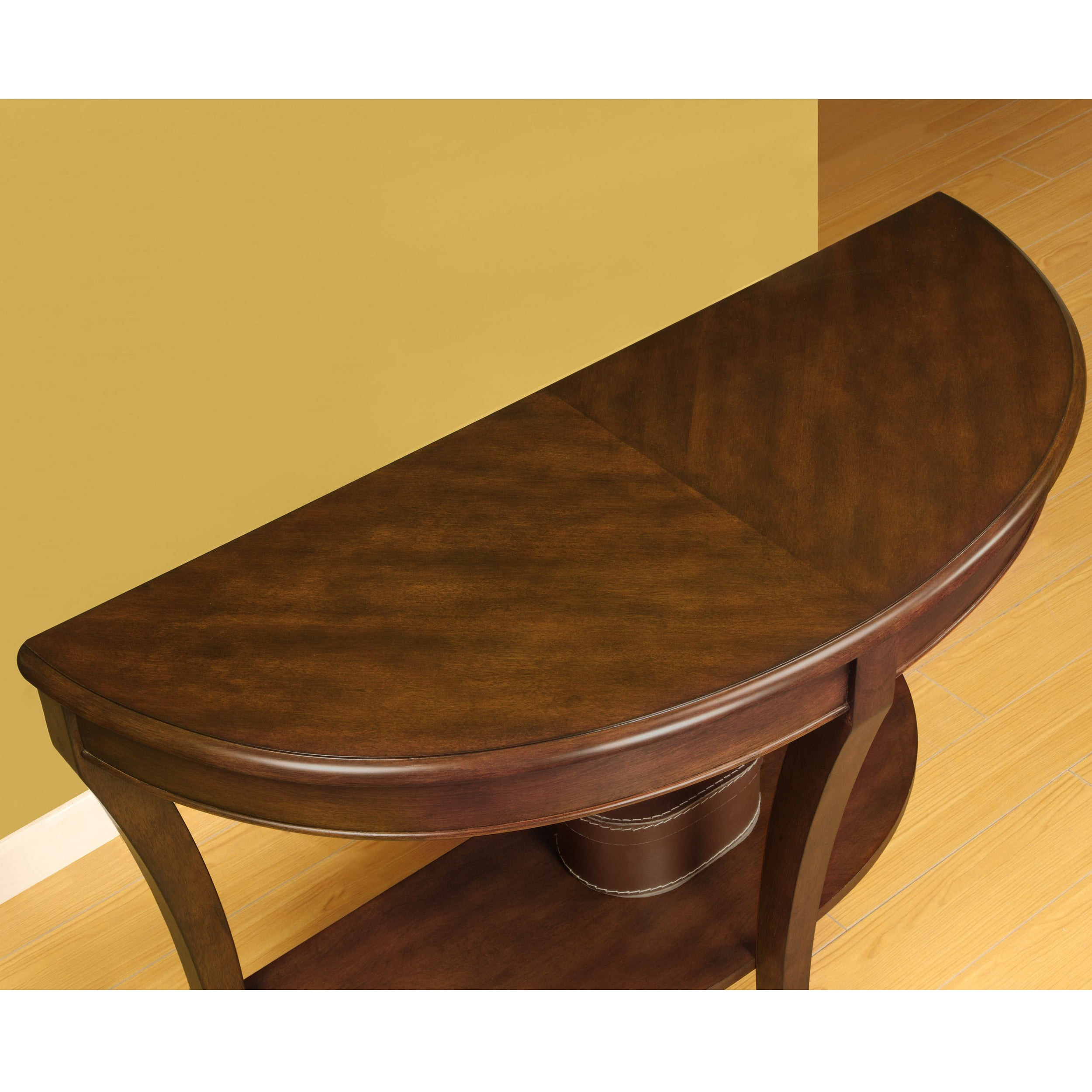 Copper Grove Half Round Sofa Table Free Shipping Today 11143150