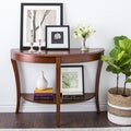 Copper Grove Teton Half-round Sofa Table