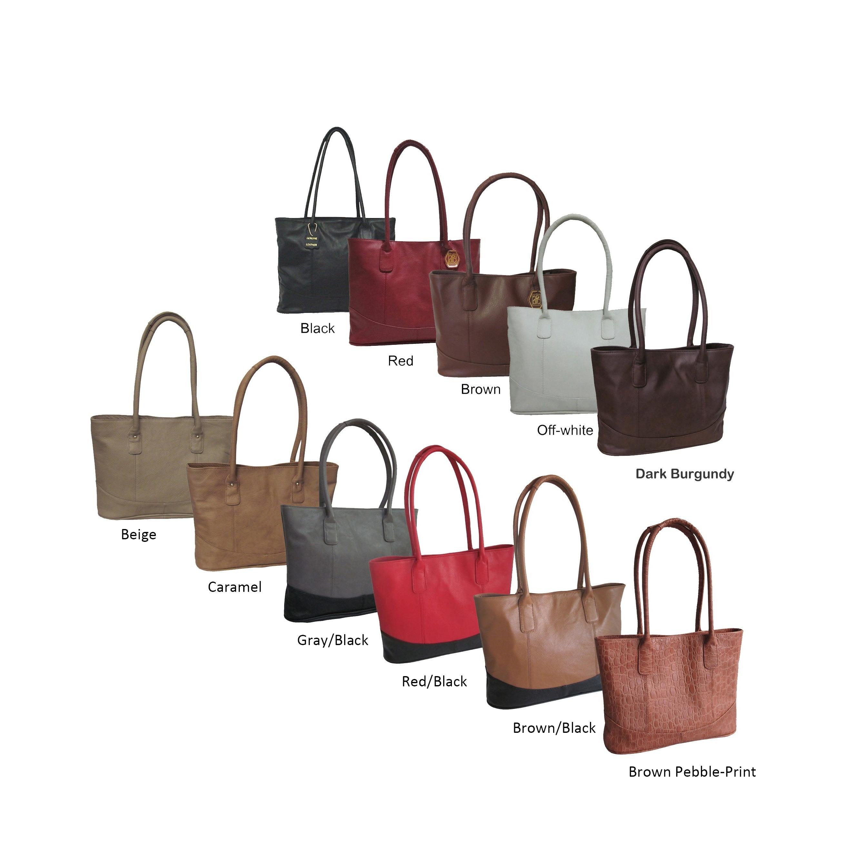 eb7556bff8 Amerileather Casual Leather Handbag