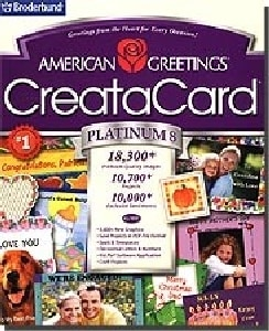 Shop american greetings creatacard platinum 8 free shipping on american greetings creatacard platinum 8 m4hsunfo