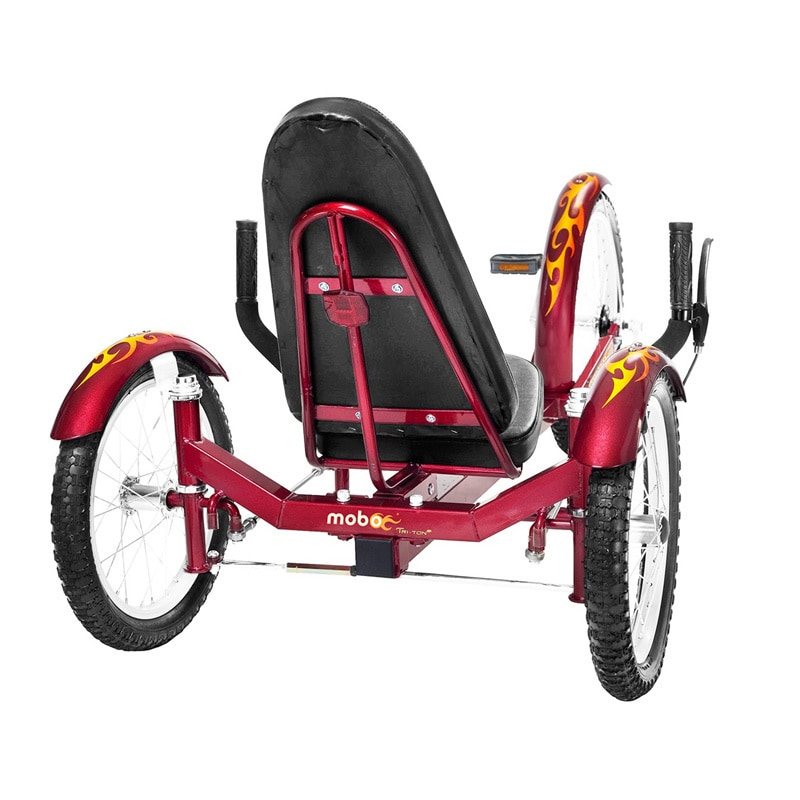 Mobo Triton Pro The Ultimate Adult Three Wheeled Red Cruiser - Free Shipping Today - Overstock.com - 11163018