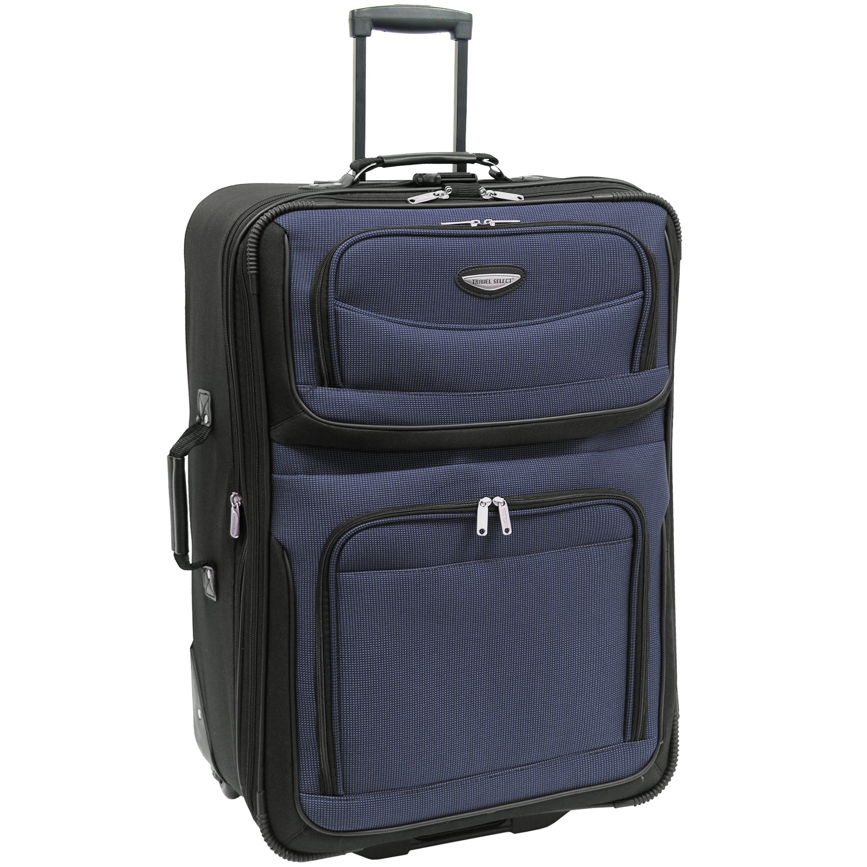 e26e6a61f8 Shop Travel Select by Traveler s Choice Amsterdam 29-Inch Large Expandable  Rolling Upright Suitcase - Free Shipping Today - Overstock - 3019553