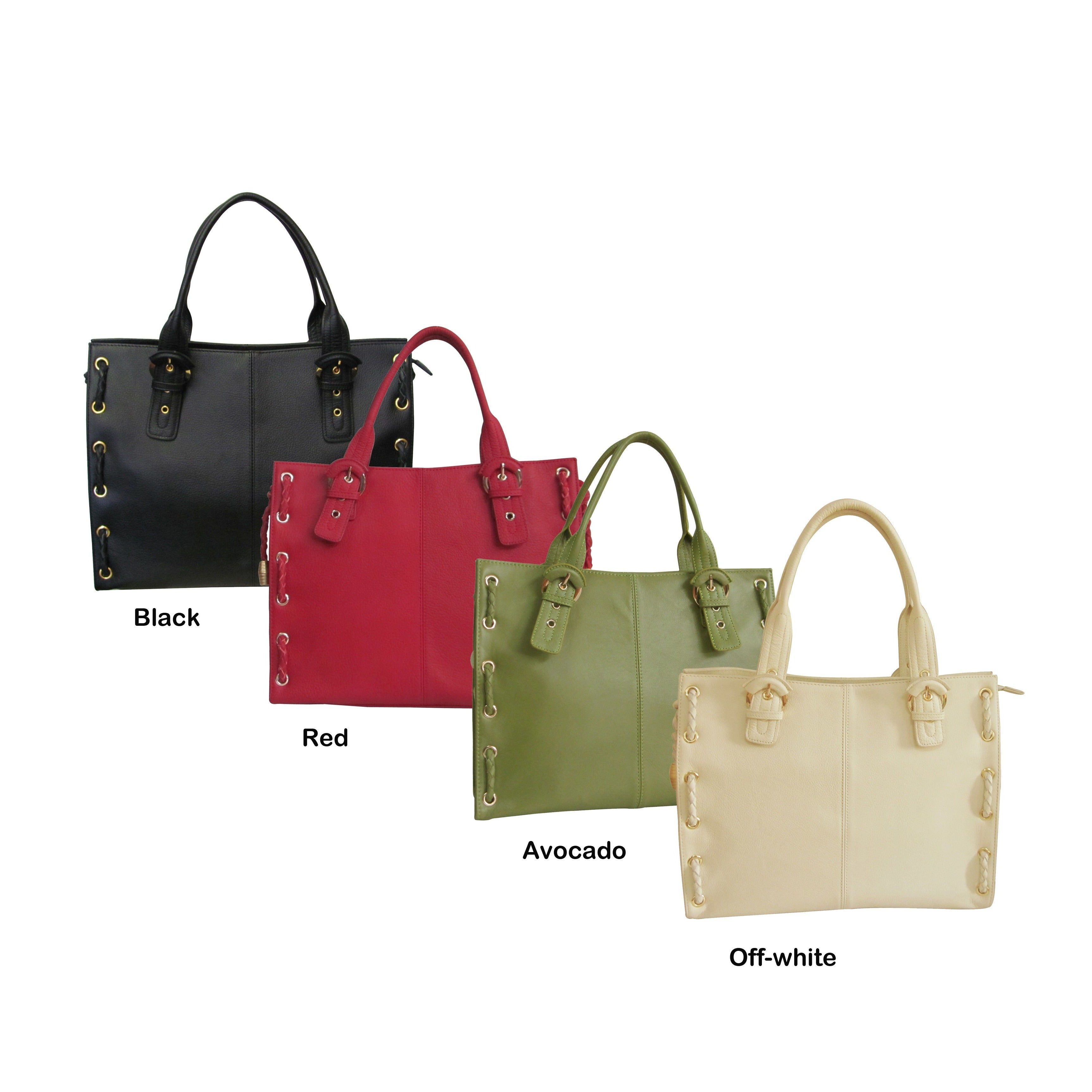 ff8af15d10 Shop Amerileather Double Handle Tote - Free Shipping Today ...