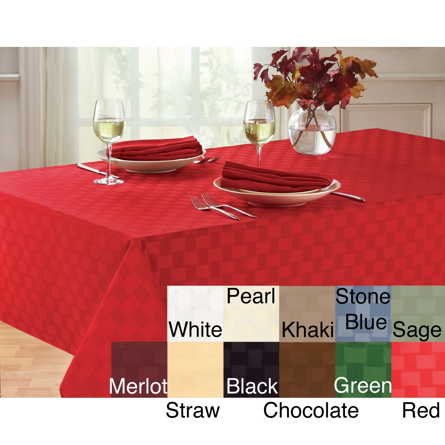 Reflections Microfiber Tablecloth Free Shipping On Orders Over 45 3031937