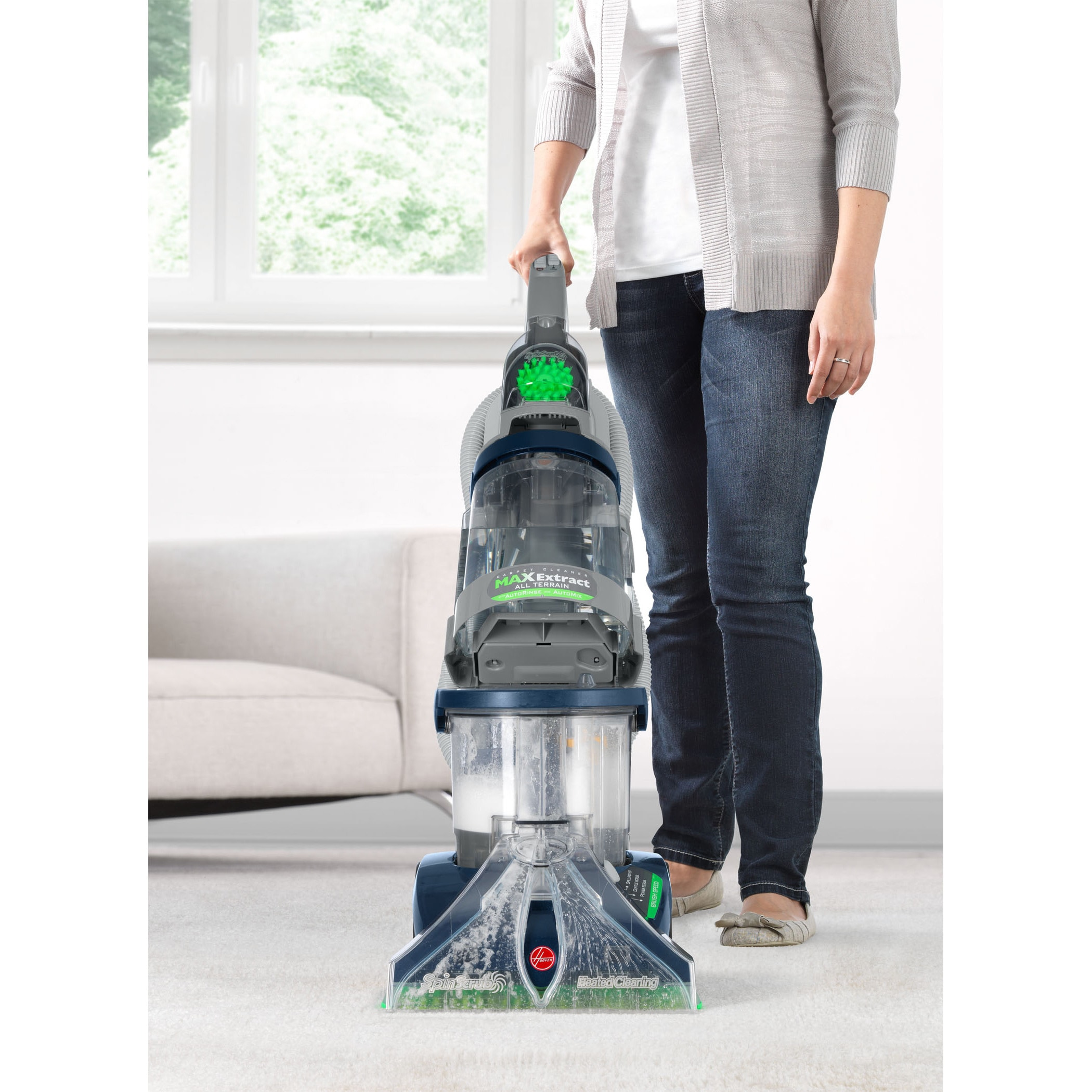 3f9e52c7119 Shop Hoover F7452-900 SteamVac All-terrain 6-brush Dual V Deep Cleaner -  Free Shipping Today - Overstock - 3055261
