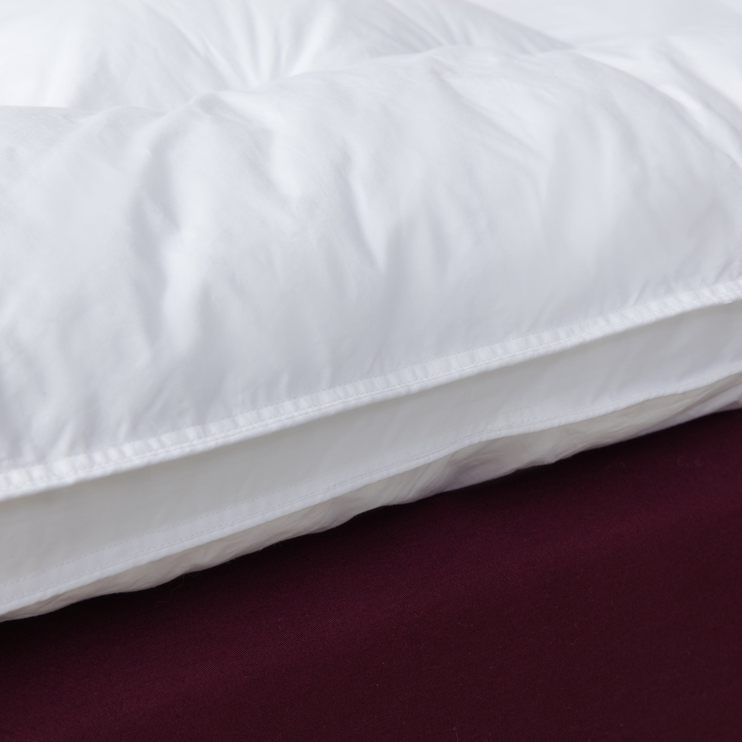 hybrid memory bath deluxe and fiber mattress topper overstock shipping inch free restonic product bedding today foam