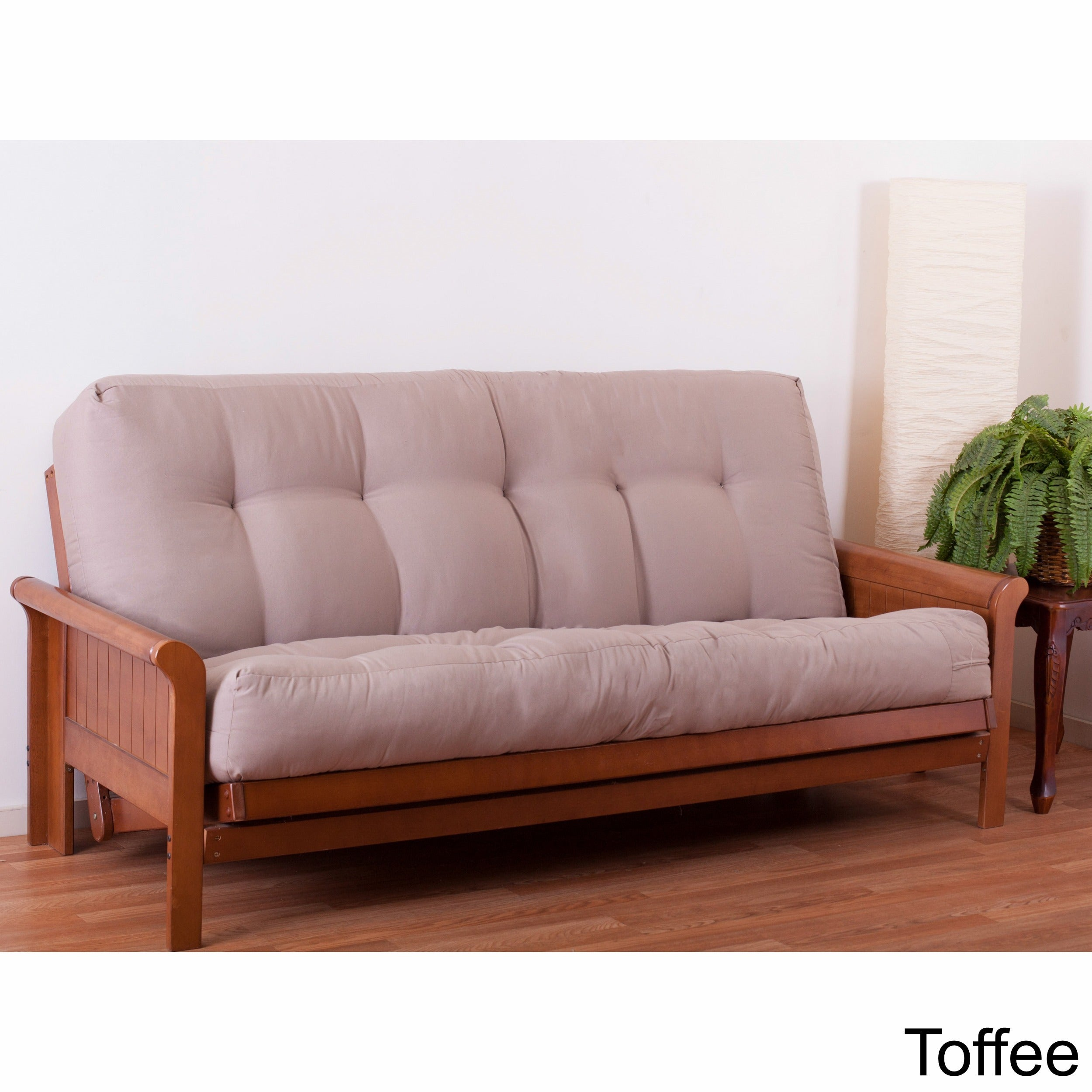 tan cushions home depot the canada dhp p futon black ethan en mattress white inch sofabed