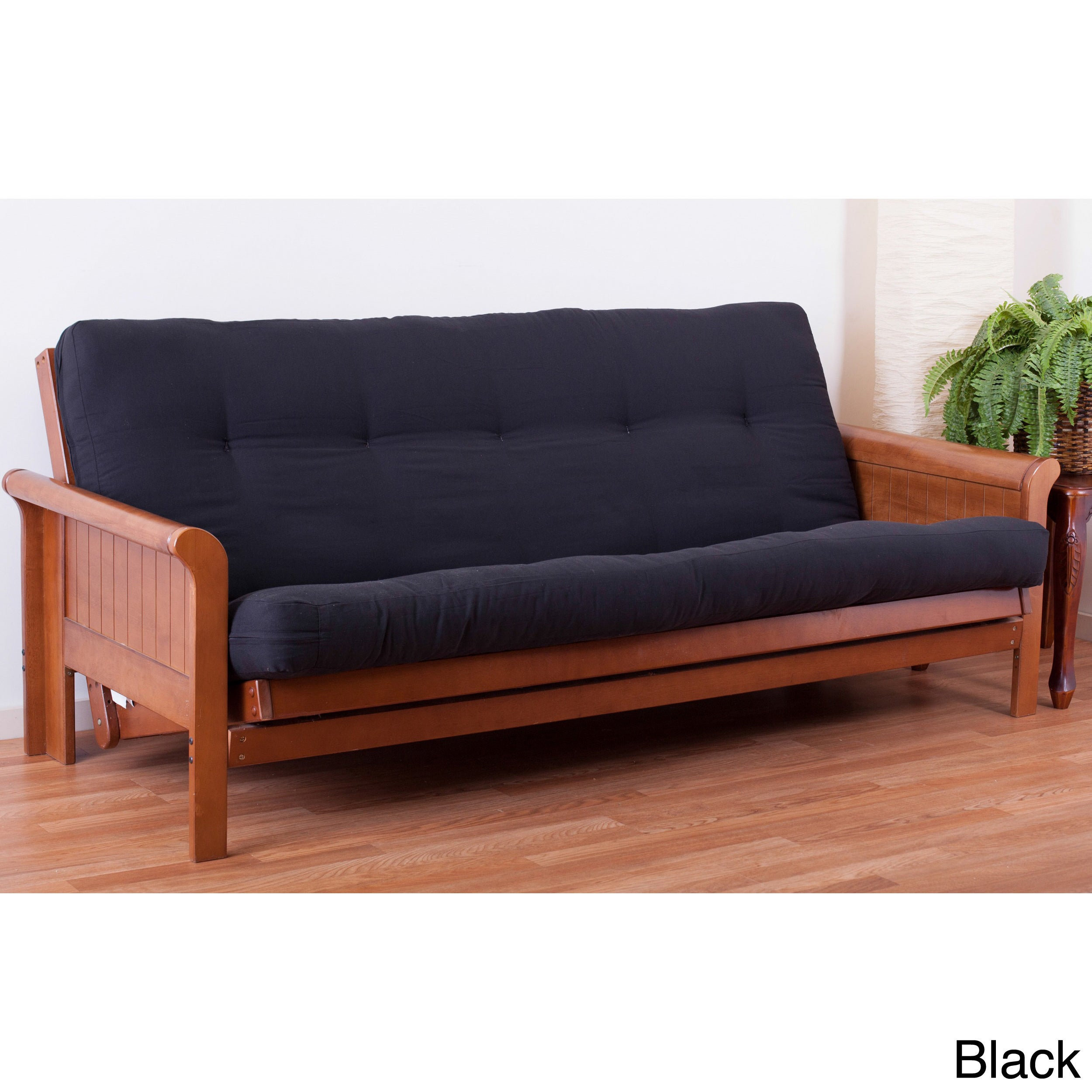 Tufted Cotton Foam Full size 6 inch Futon Mattress ly Free