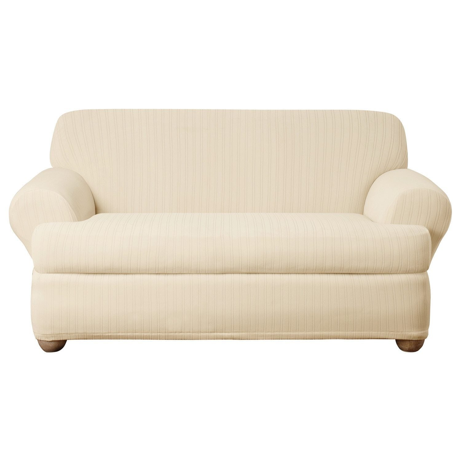 loveseat for slip two nice enchanting glamorous ribbon slipcovers sofa cushion covers slipcover white couch t disheveled decals idea with cotton texture sofas seater duck