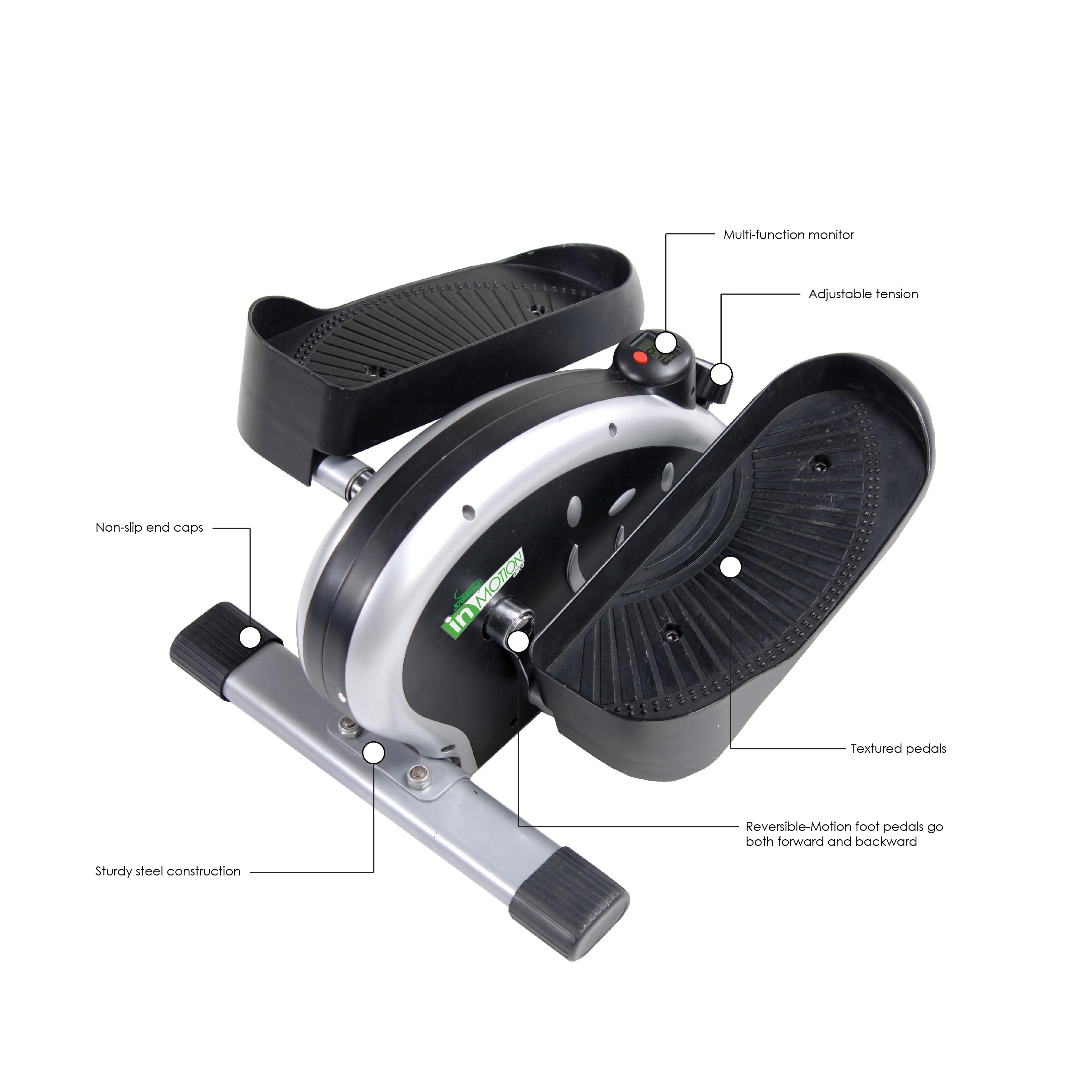 Shop stamina inmotion elliptical trainer gym machine black