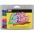 Uchida Nontoxic Brush-Tip Fabric Markers (Pack of 6)