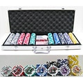 High Roller 500-piece Poker Chip Set
