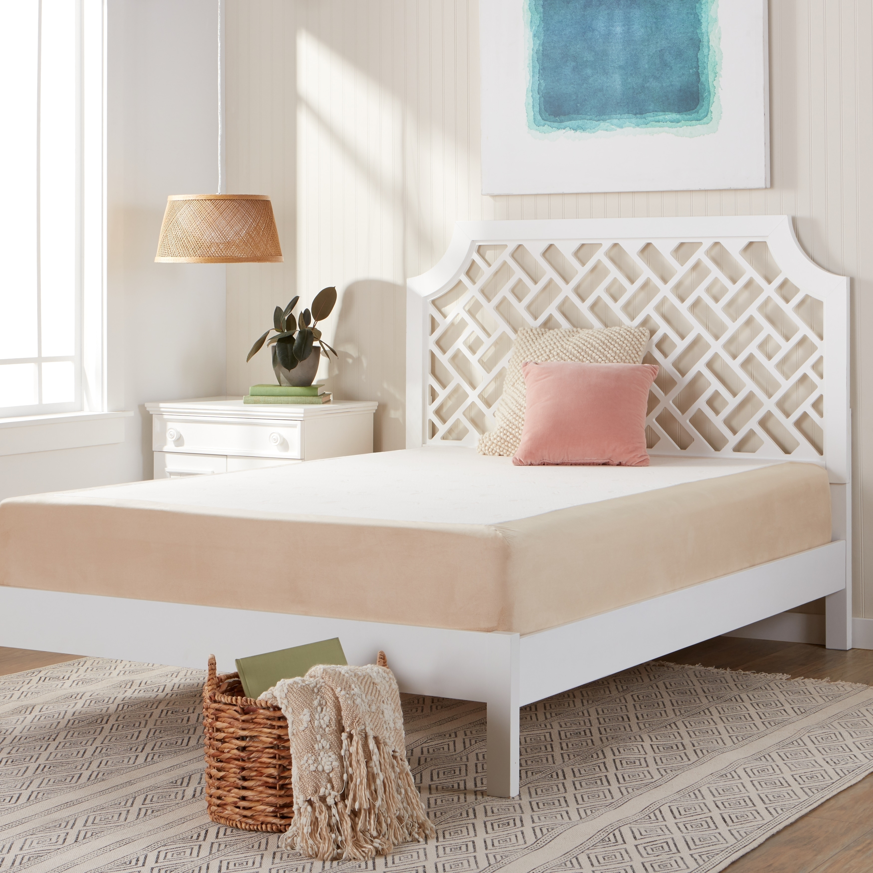 top product overstock mattresses size collection garden home premium spring noelle set king air shipping free pillow today mattress