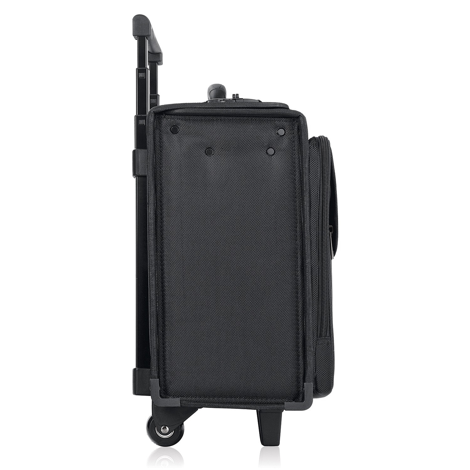 Shop Solo 17.3-inch Black Laptop Rolling Catalog Case with Hanging File  System - Free Shipping Today - Overstock.com - 3165944 22923367e6