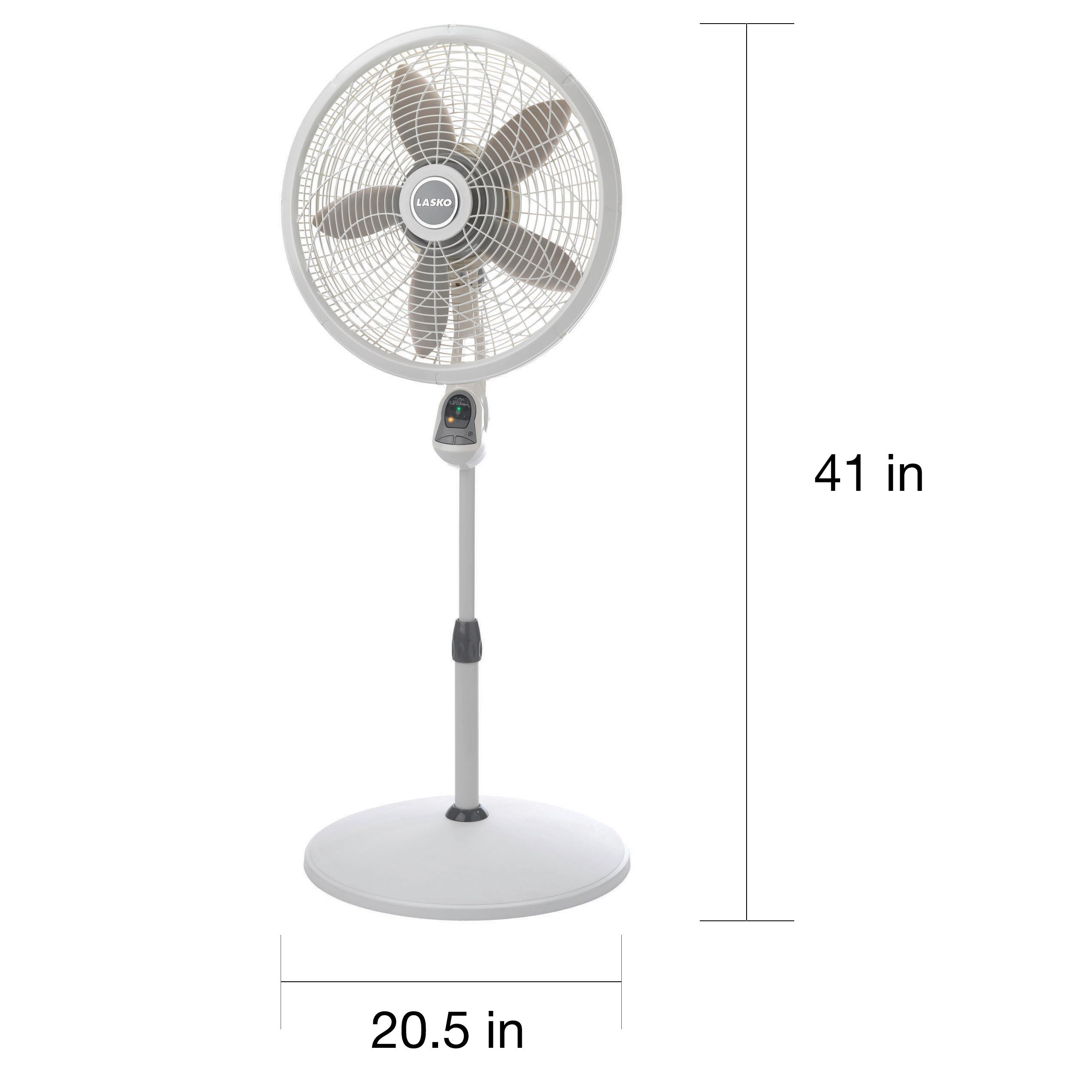 thumbnail oscillating speed fan metal control remote pedestal stand three white plastic
