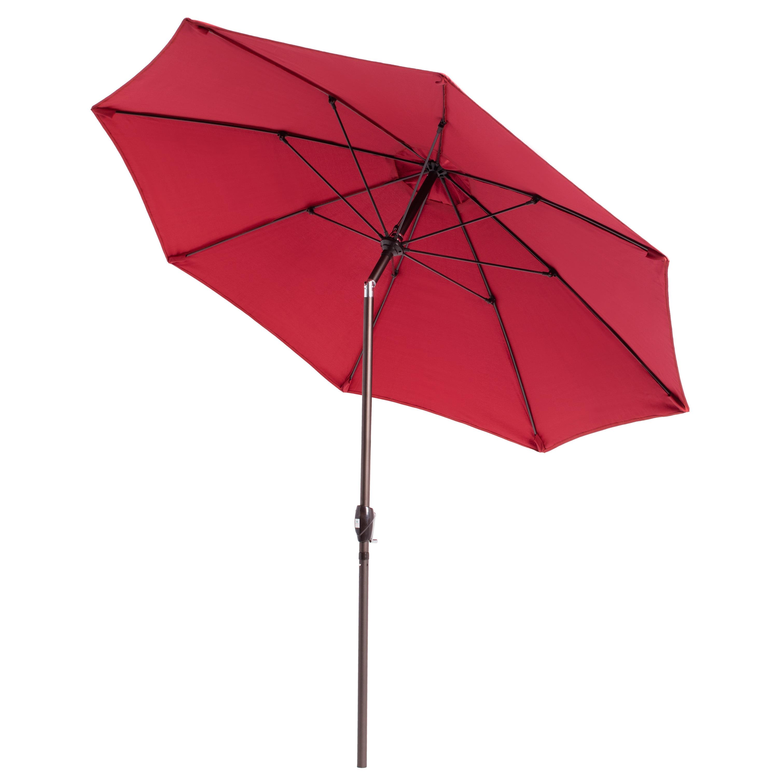 Lauren & pany Fiberglass Olefin Crank and Tilt 9 foot Umbrella
