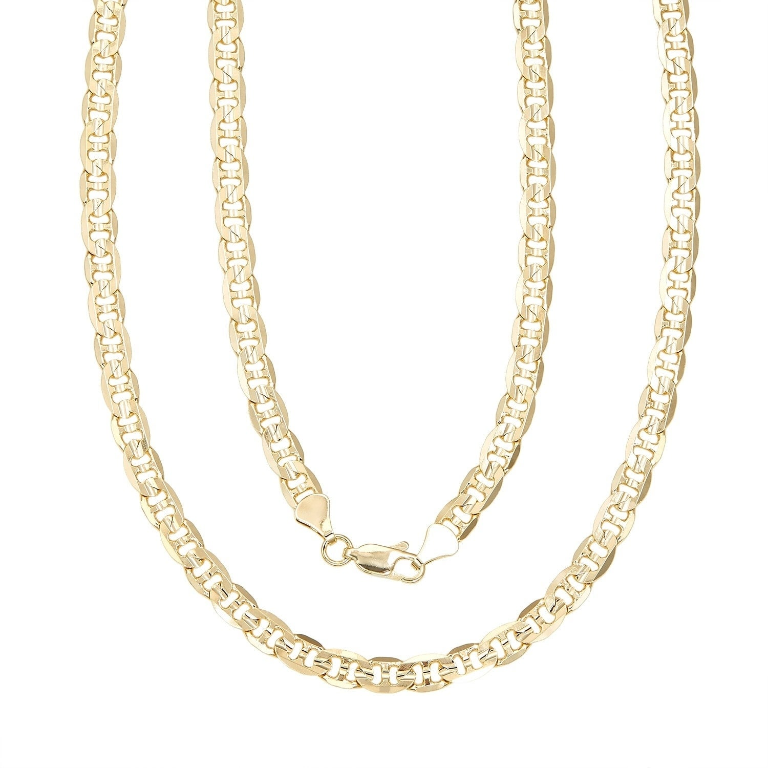 118090d87f6 Shop Simon Frank Gold Overlay 8mm Gucci-style Necklace (30-inch ...