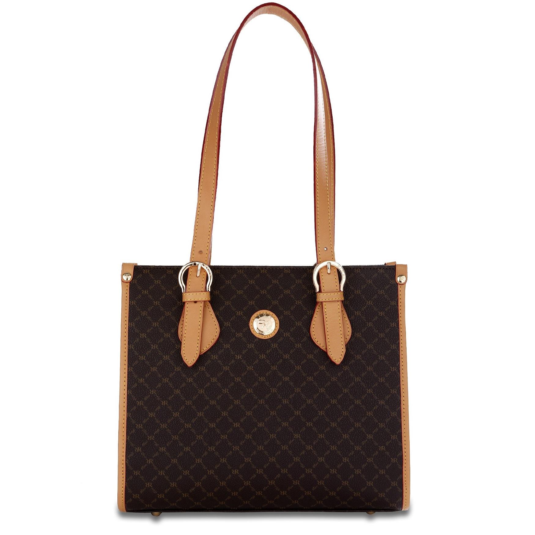 Shop Rioni Signature Shoulder Tote Handbag - Free Shipping Today -  Overstock.com - 3255085 bda111e5c3