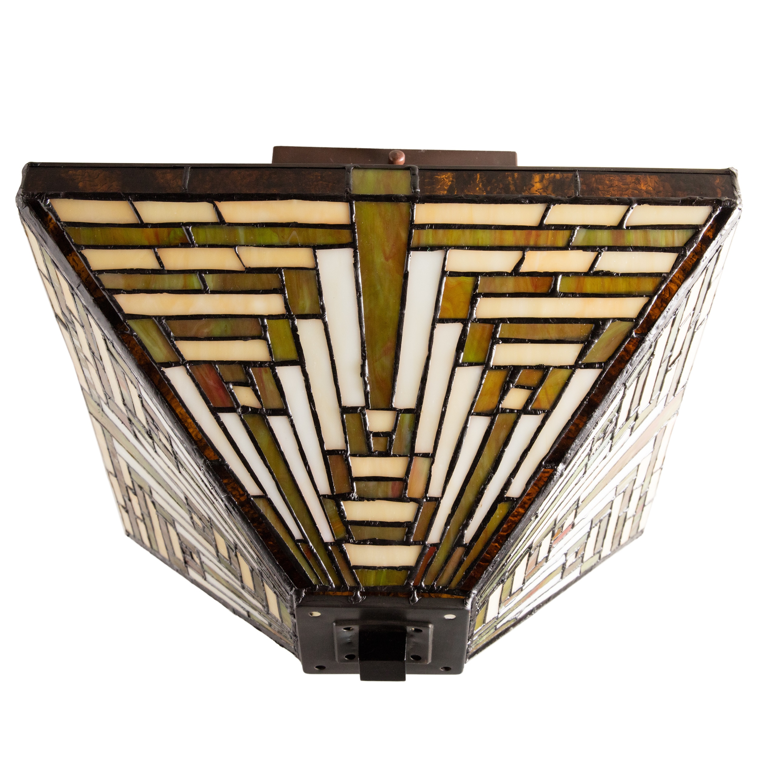 Shop tiffany style frank lloyd wright mission ceiling lamp free shop tiffany style frank lloyd wright mission ceiling lamp free shipping today overstock 3274669 aloadofball Choice Image