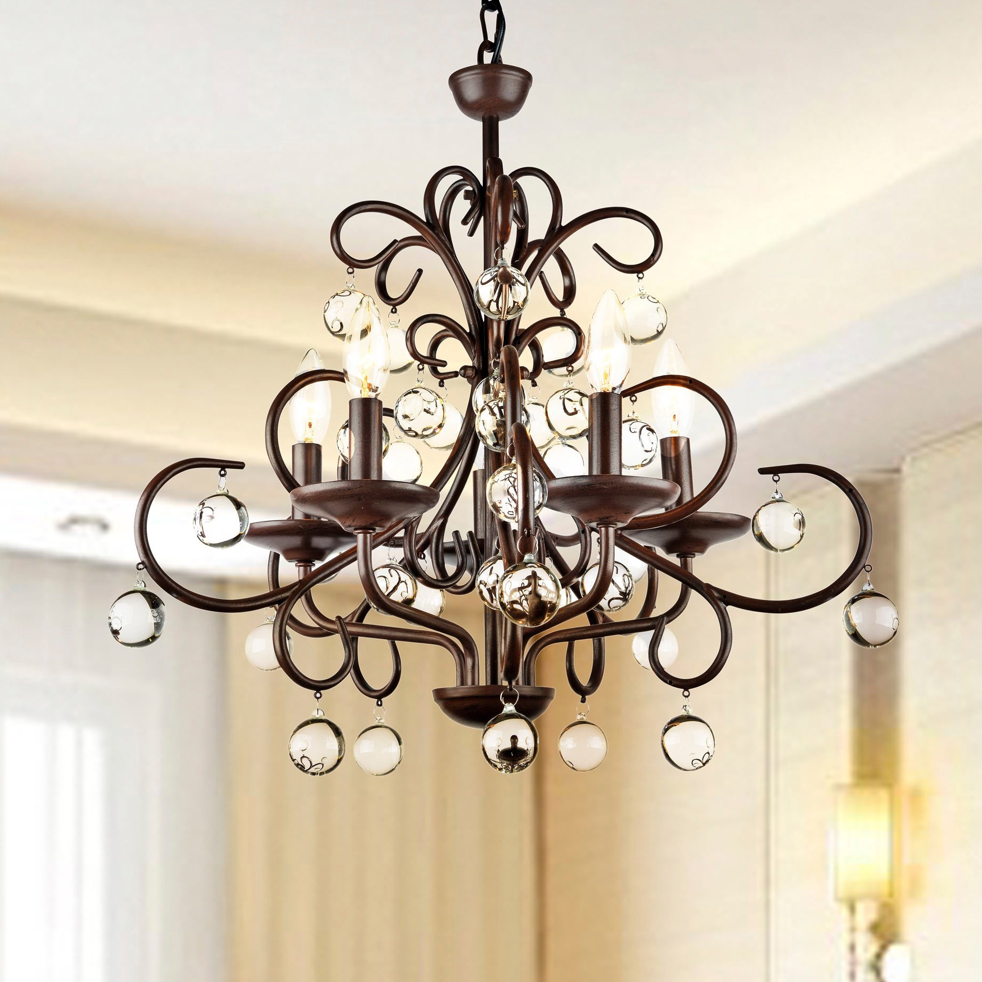 grand product world old crystal chandeliers chandelier wrought and lighting foyer by glow iron