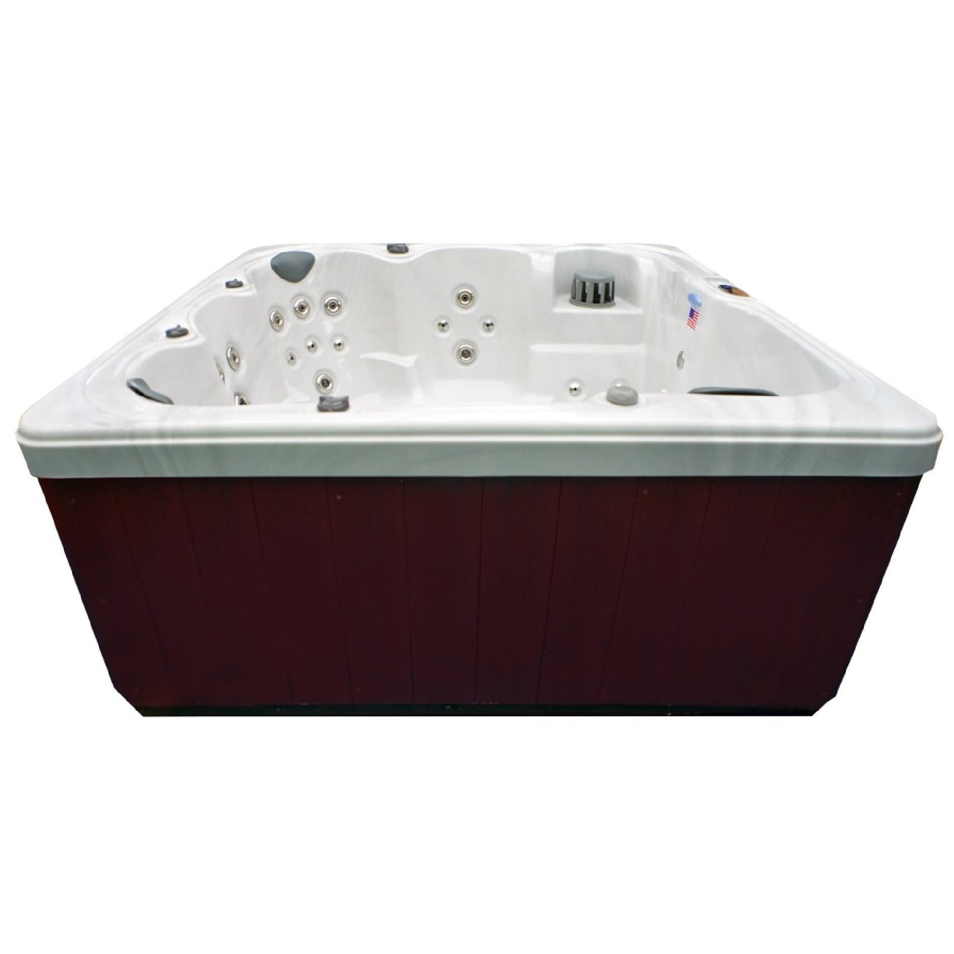 Home and Garden 6-person 71-jet Spa with Stainless Jets and Ozone ...