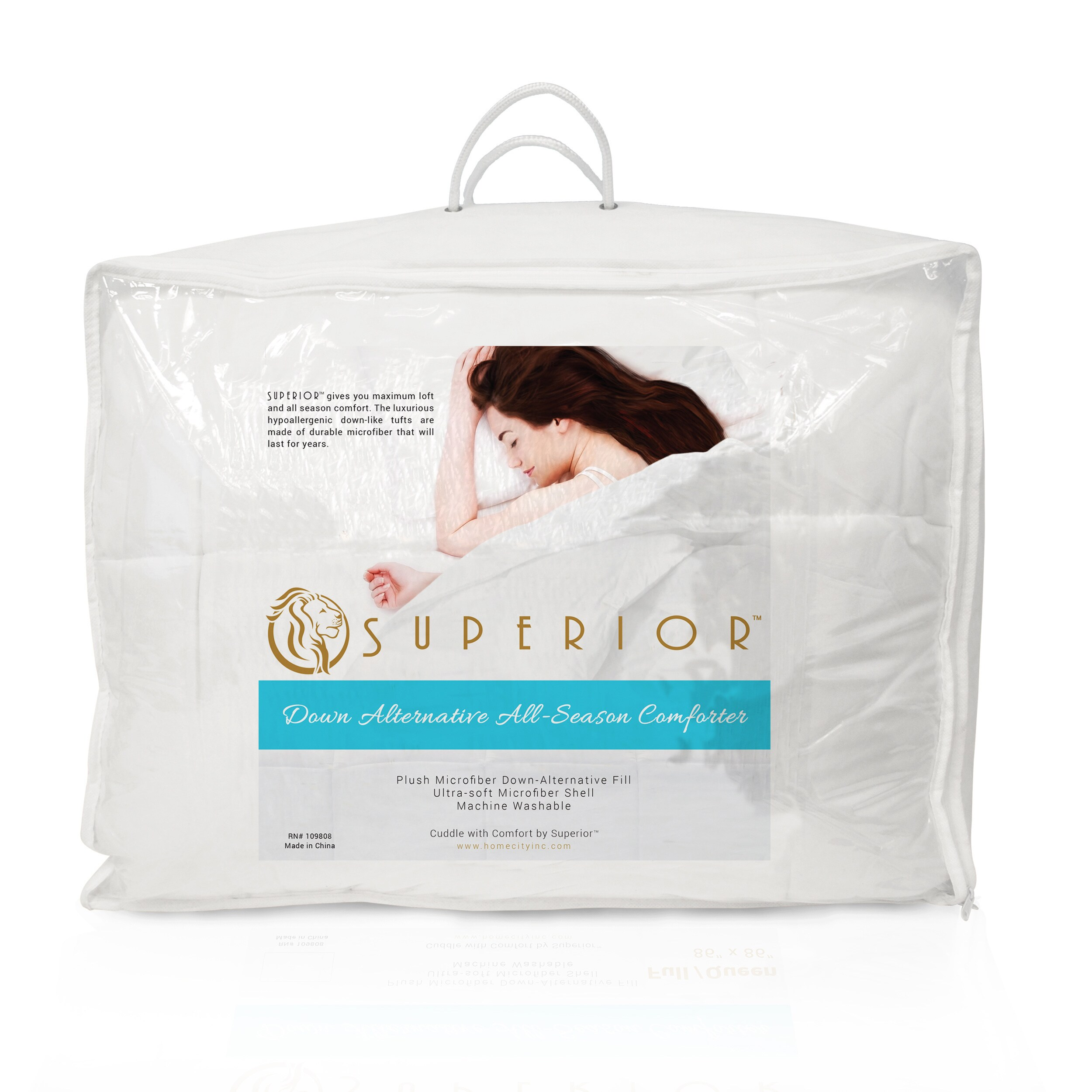 Superior All Season Luxurious Down Alternative Hypoallergenic Comforter On Free Shipping Today 3297897